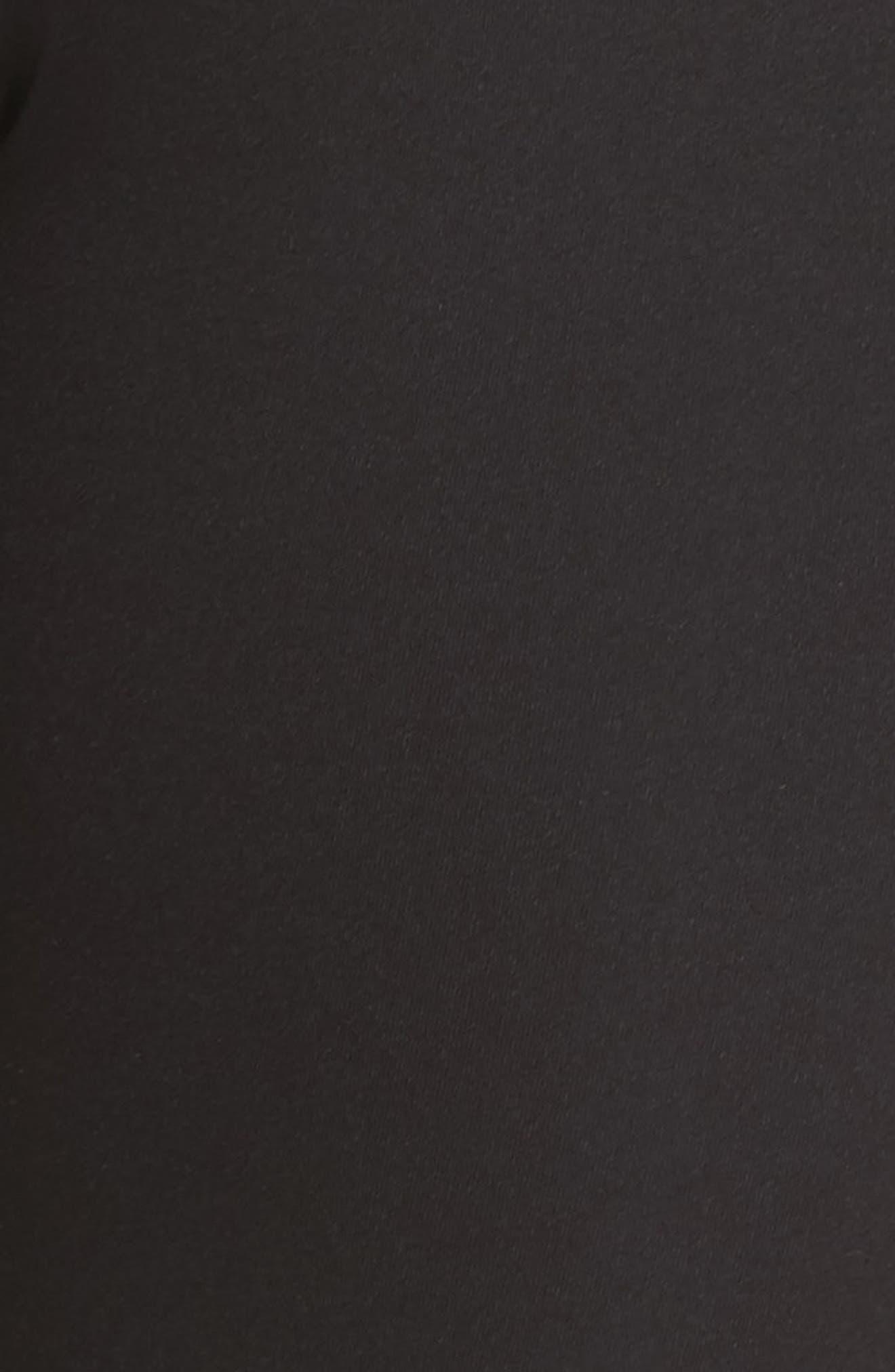 Sharp Shape Tights,                             Alternate thumbnail 7, color,                             Puma Black-Peach Beige