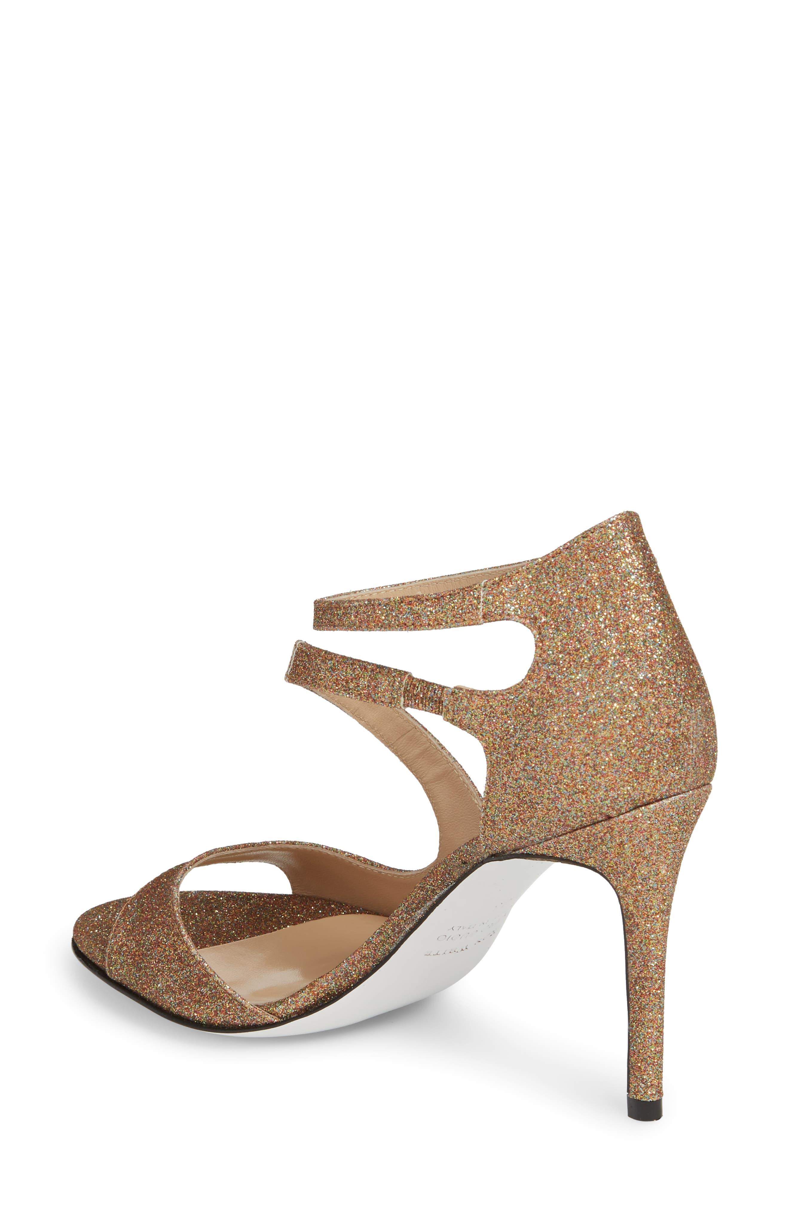 Alternate Image 2  - Ron White Vallie Glitter Sandal (Women)