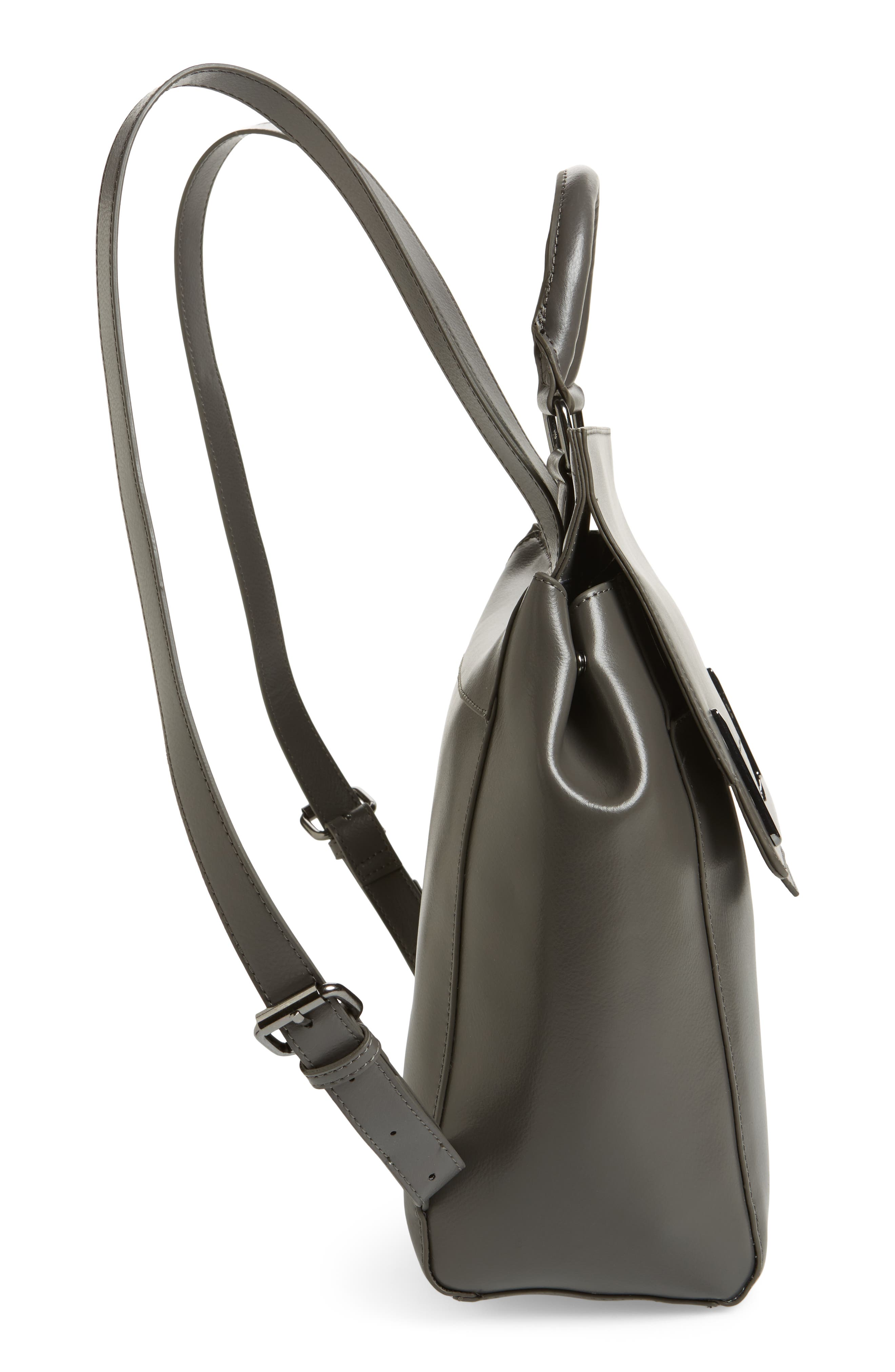 Alternate Image 5  - Danielle Nicole Dylan Leather Backpack