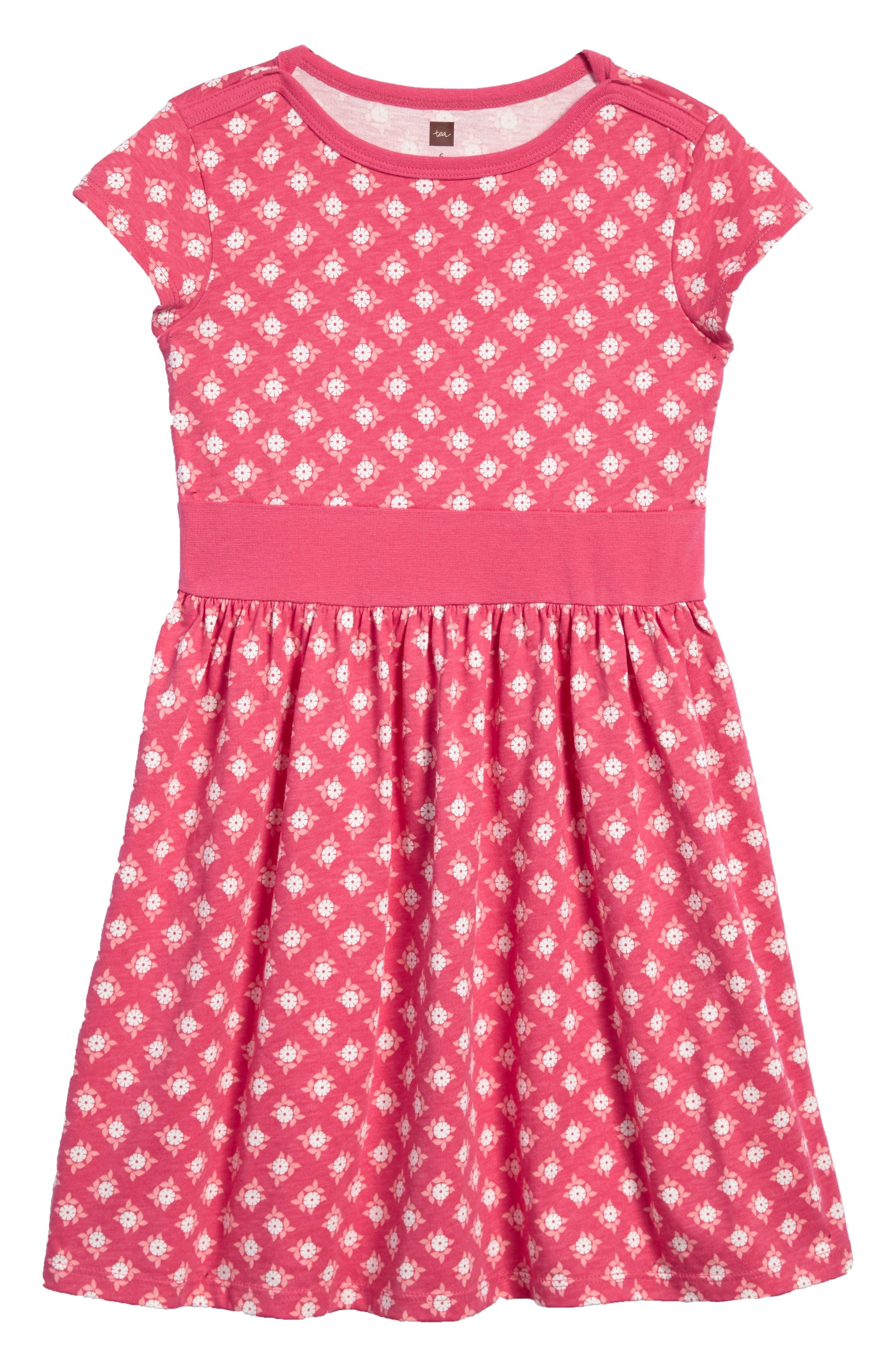 Alternate Image 1 Selected - Tea Collection Sunburst Dress (Baby Girls)