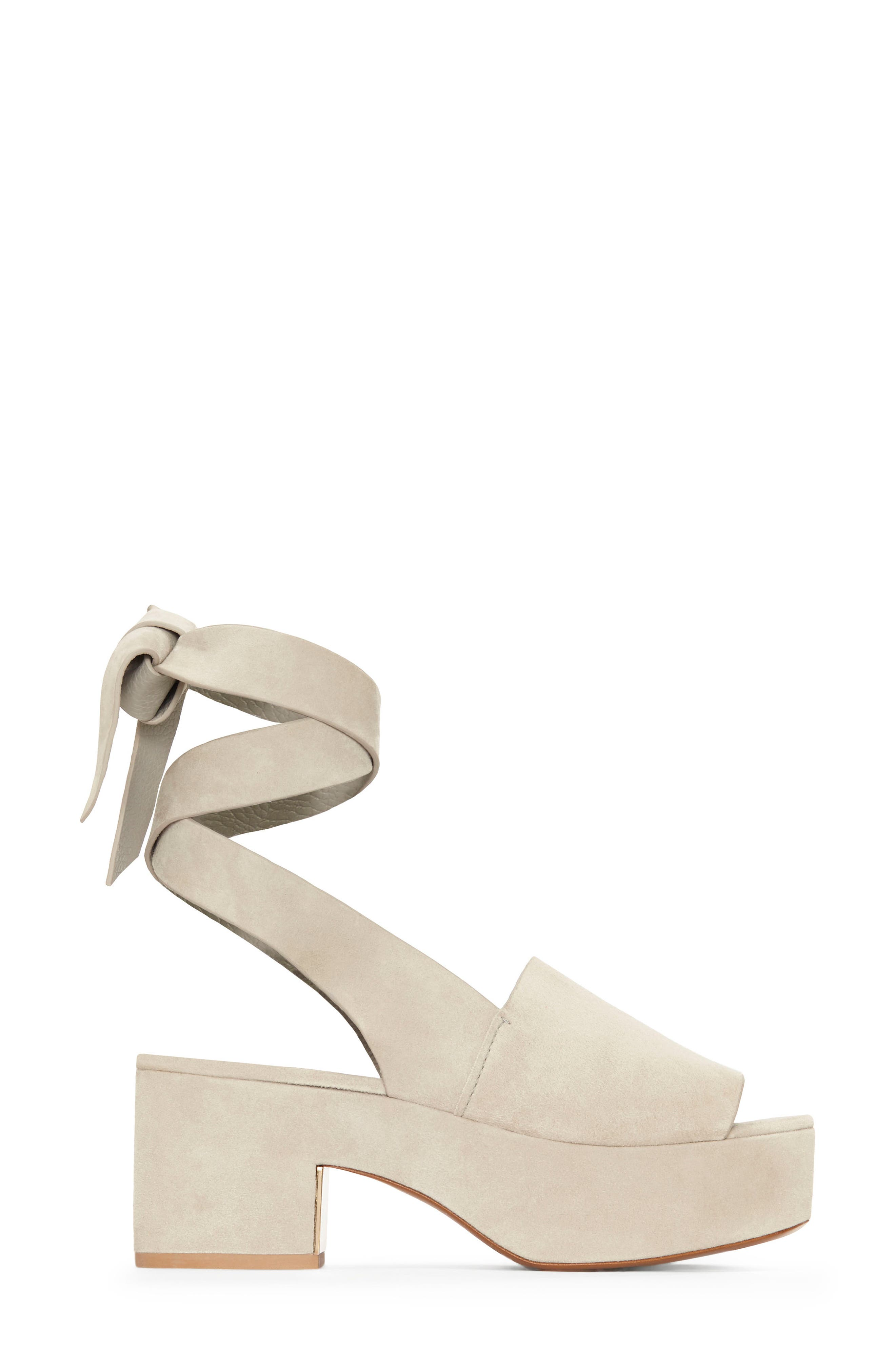 Alternate Image 1 Selected - Mercedes Castillo Darea Ankle Tie Platform Sandal (Women)