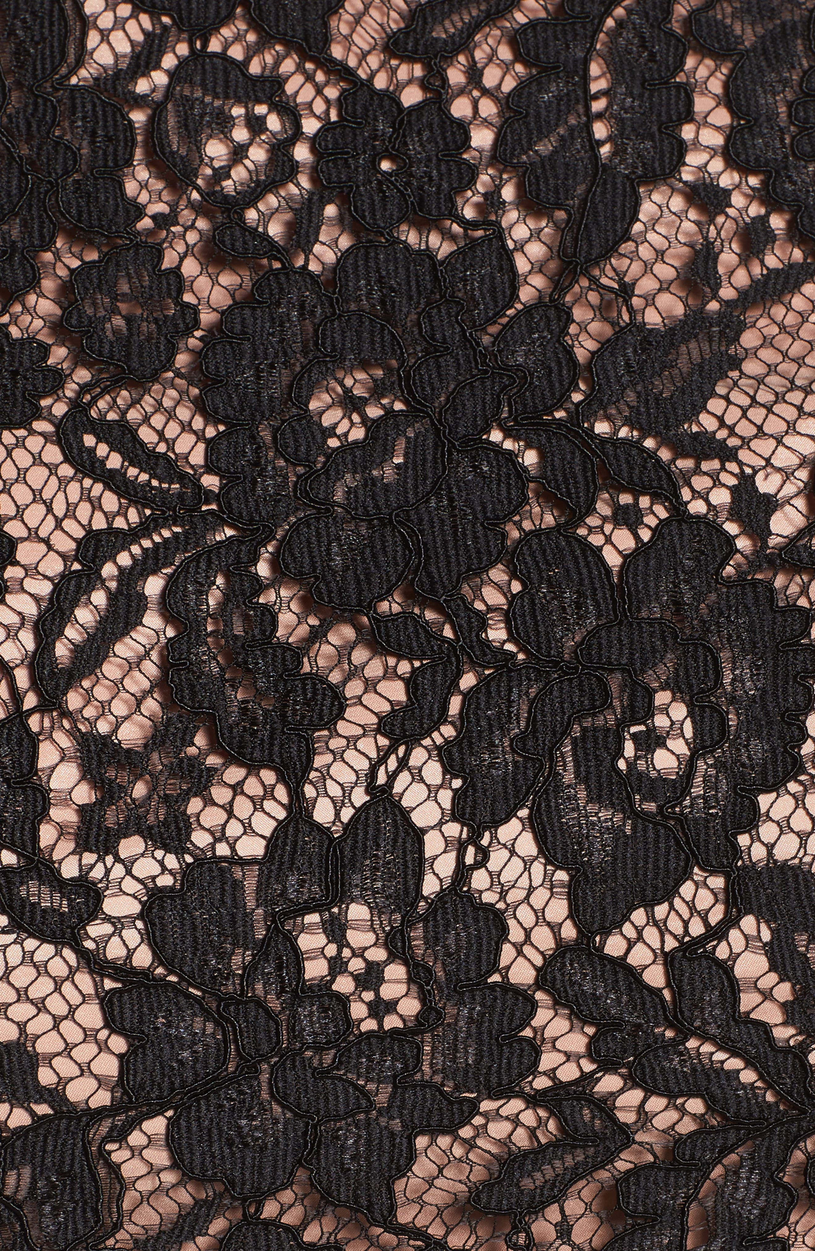 Alternate Image 5  - City Chic Decadent Lace Top (Plus Size)