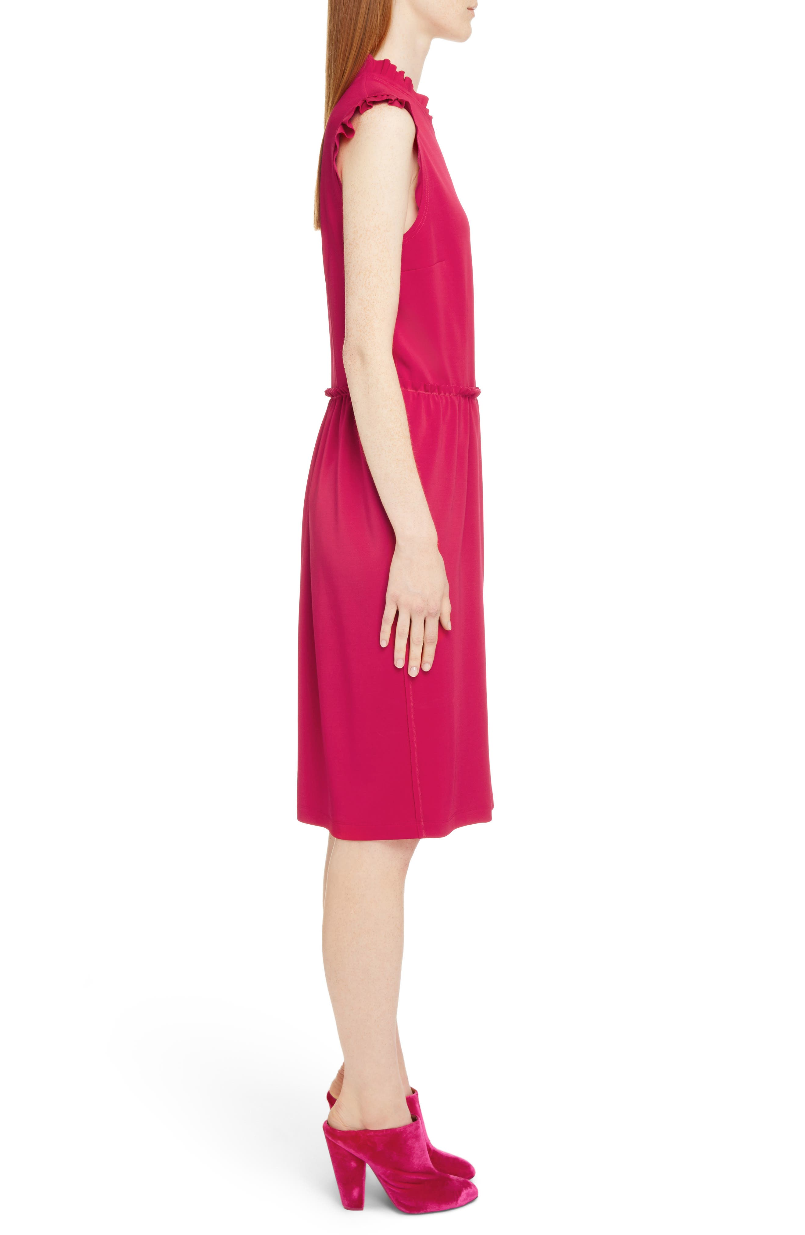 Alternate Image 3  - Givenchy Ruffle Trim Jersey Dress