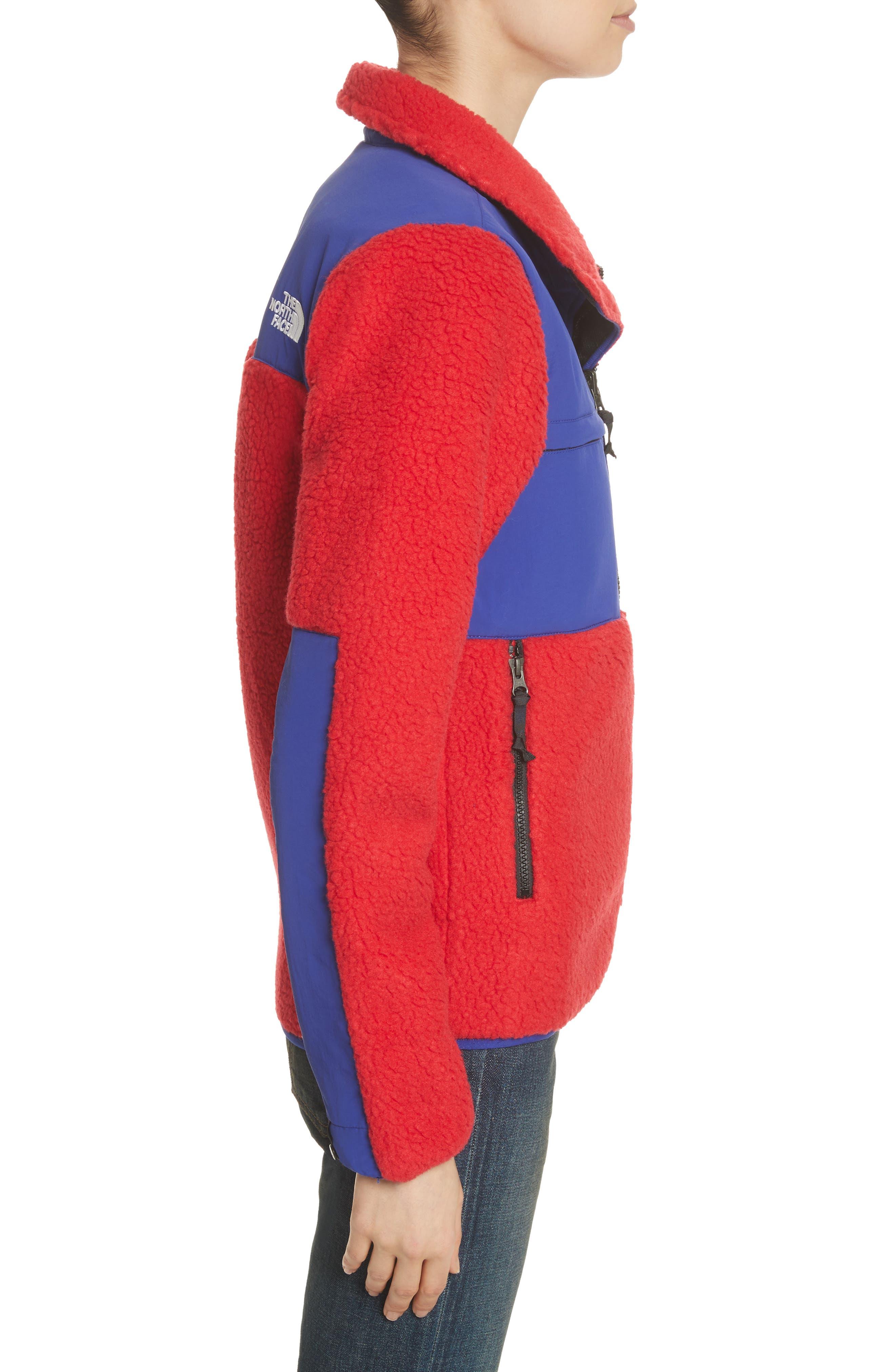 Denali Jacket,                             Alternate thumbnail 4, color,                             Tnf Red