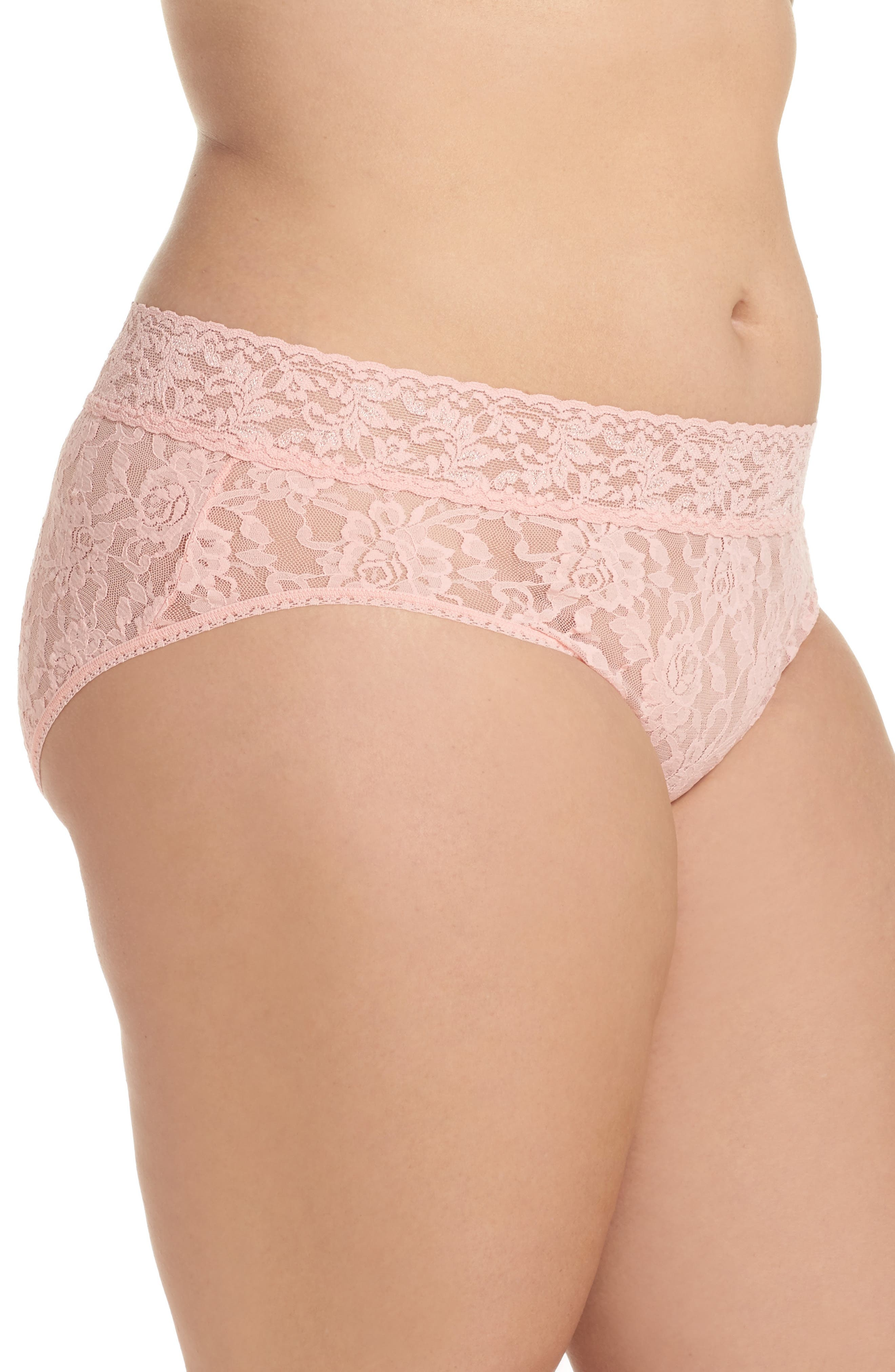Alternate Image 3  - Hanky Panky French Briefs (Plus Size)