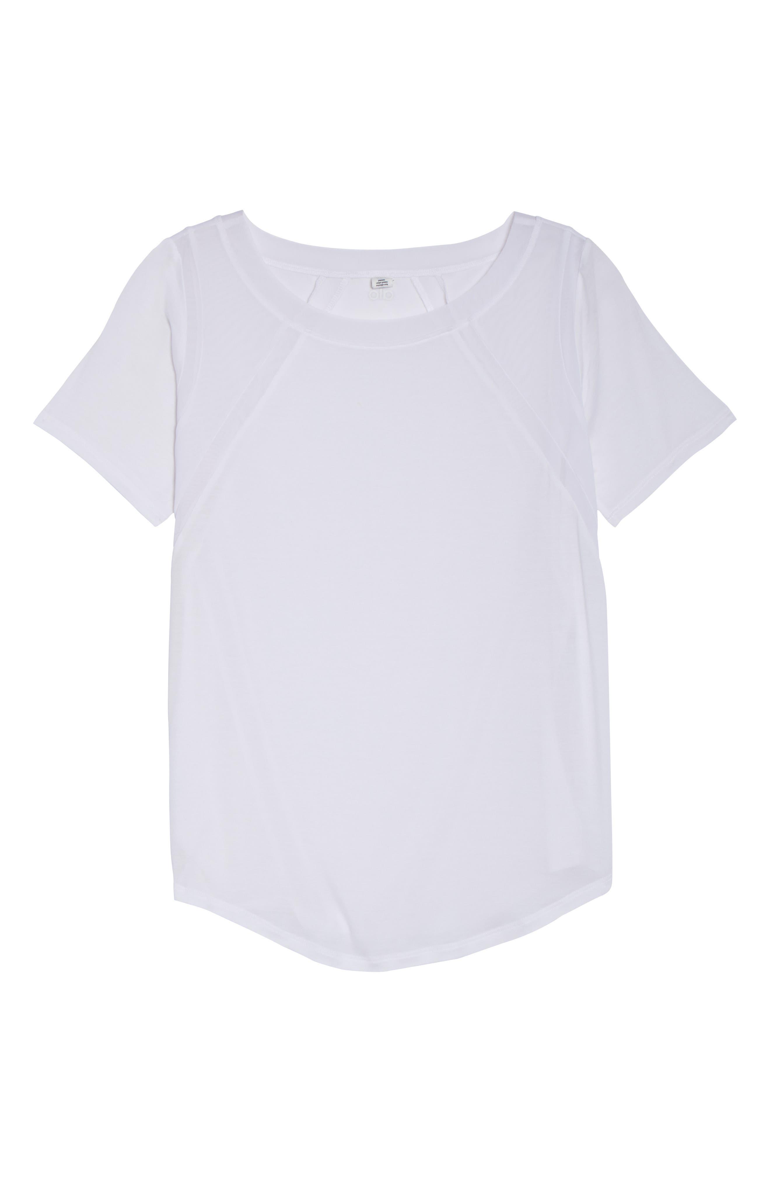 Tone Short Sleeve Tee,                             Alternate thumbnail 7, color,                             White