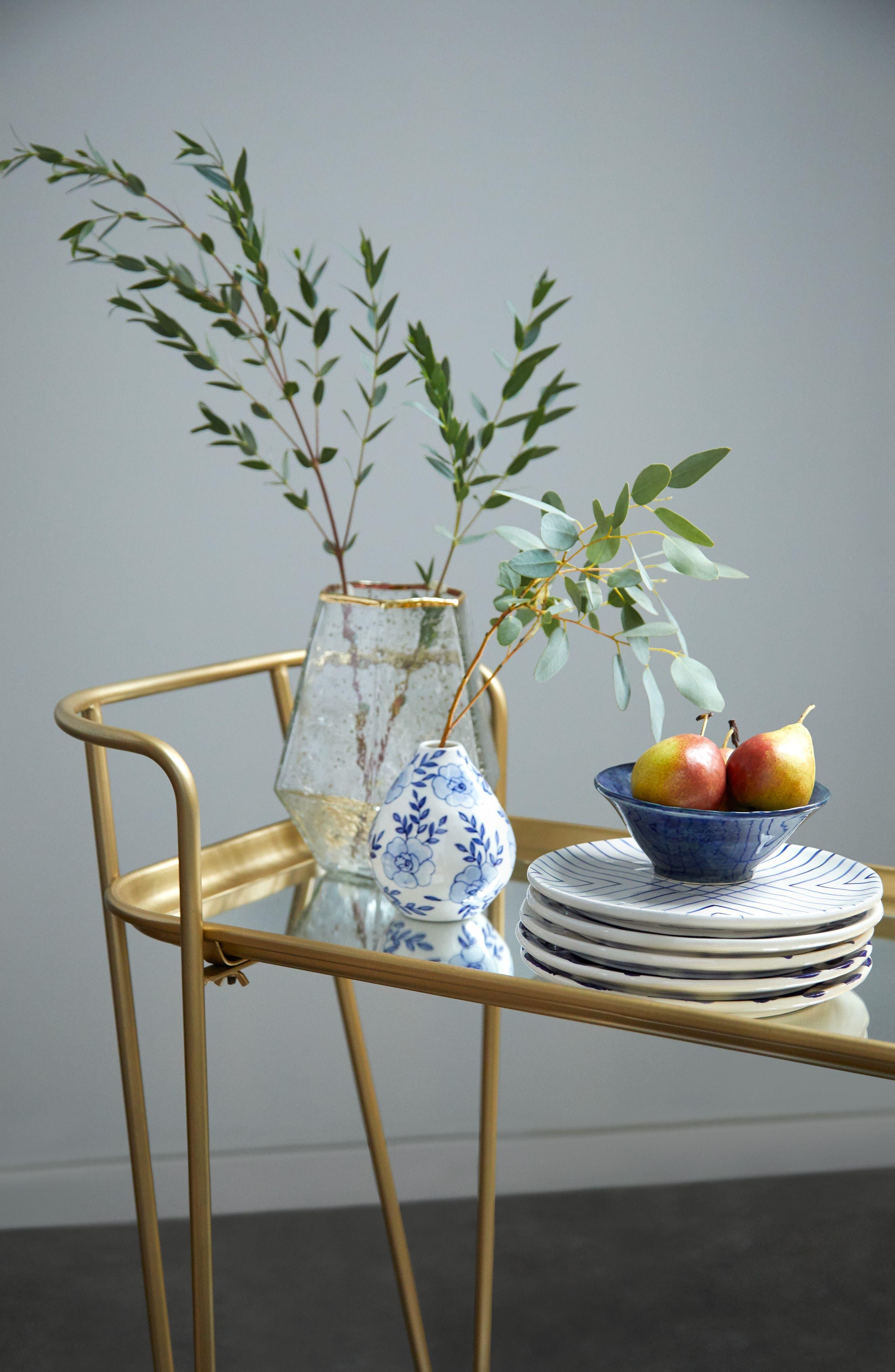 Alternate Image 4  - Accent Decor Eleanor Hand Painted Ceramic Bud Vase