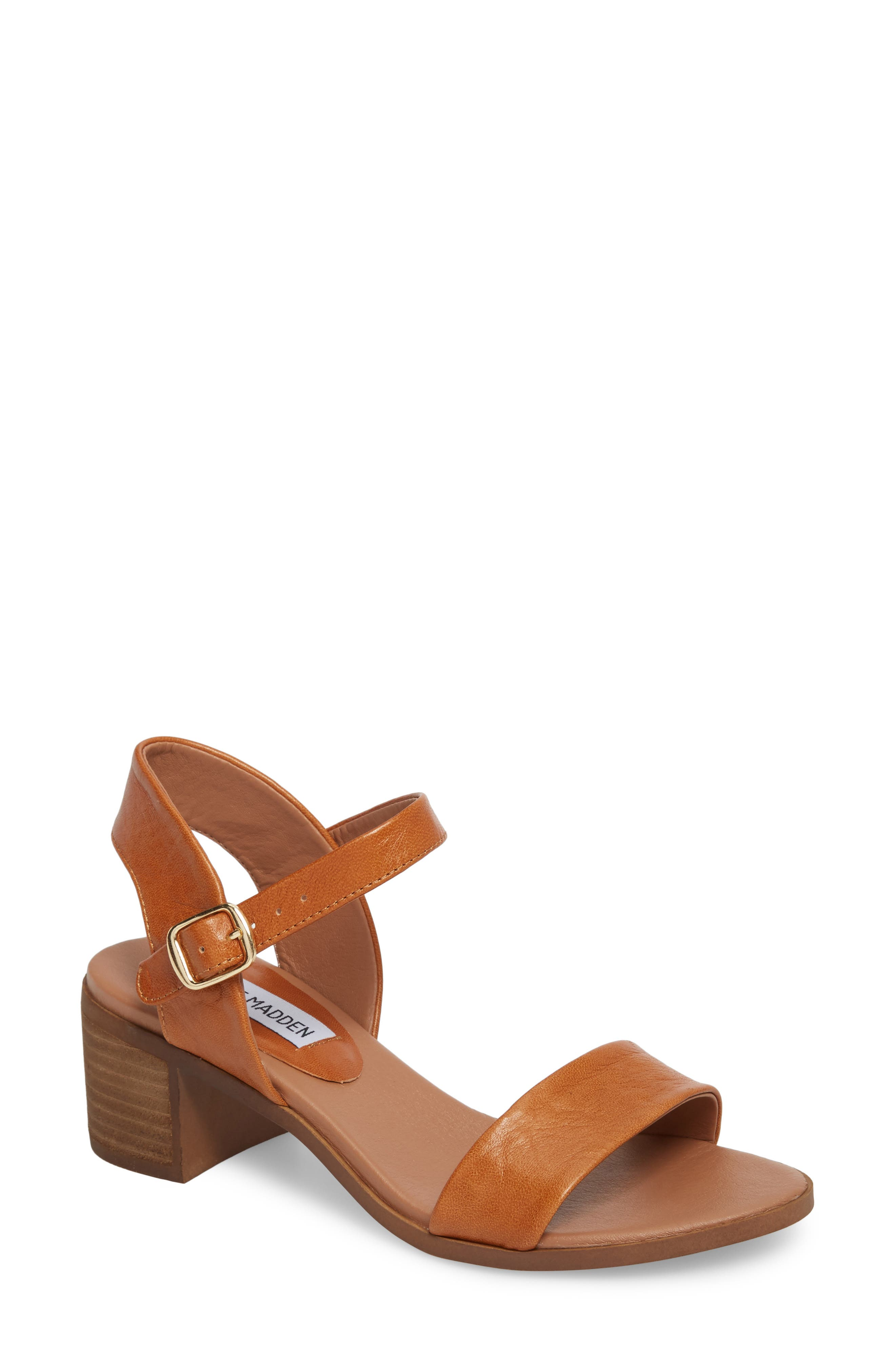 Alternate Image 1 Selected - Steve Madden April Block Heel Sandal (Women)