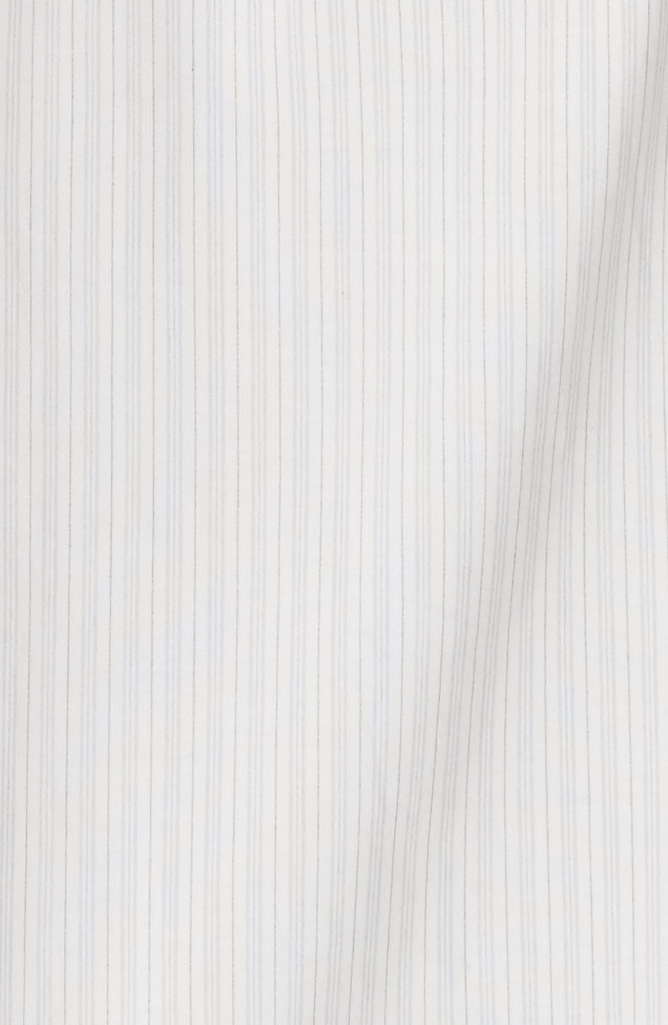 Parola Cotton Shirtdress,                             Alternate thumbnail 5, color,                             Light Grey
