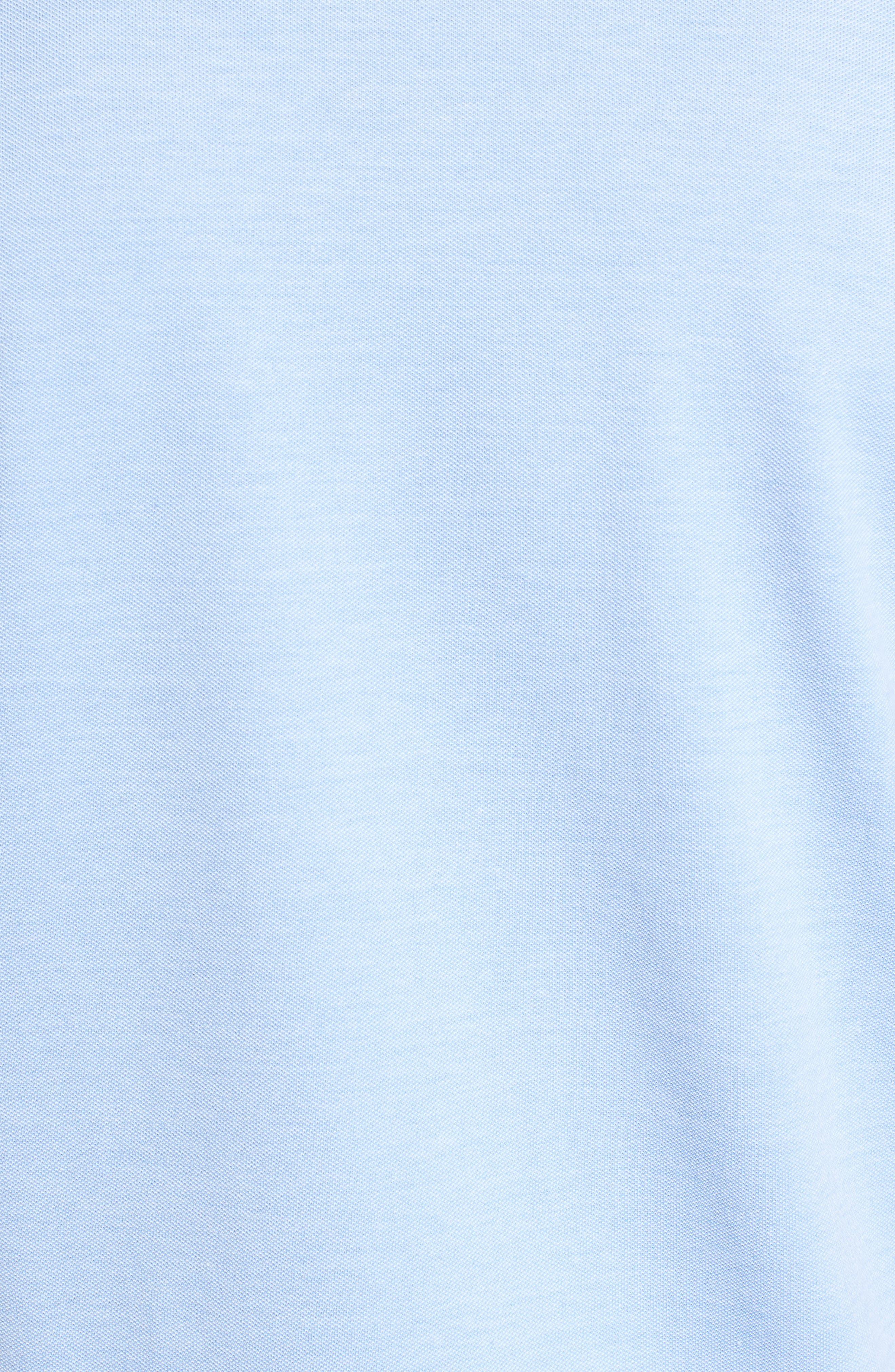 Tilson Slim Fit V-Neck T-Shirt,                             Alternate thumbnail 5, color,                             Blue