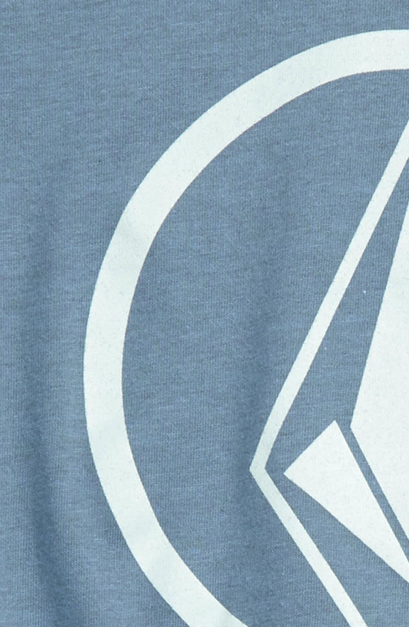 Circle Stone Logo Graphic T-Shirt,                             Alternate thumbnail 2, color,                             Wrecked Indigo