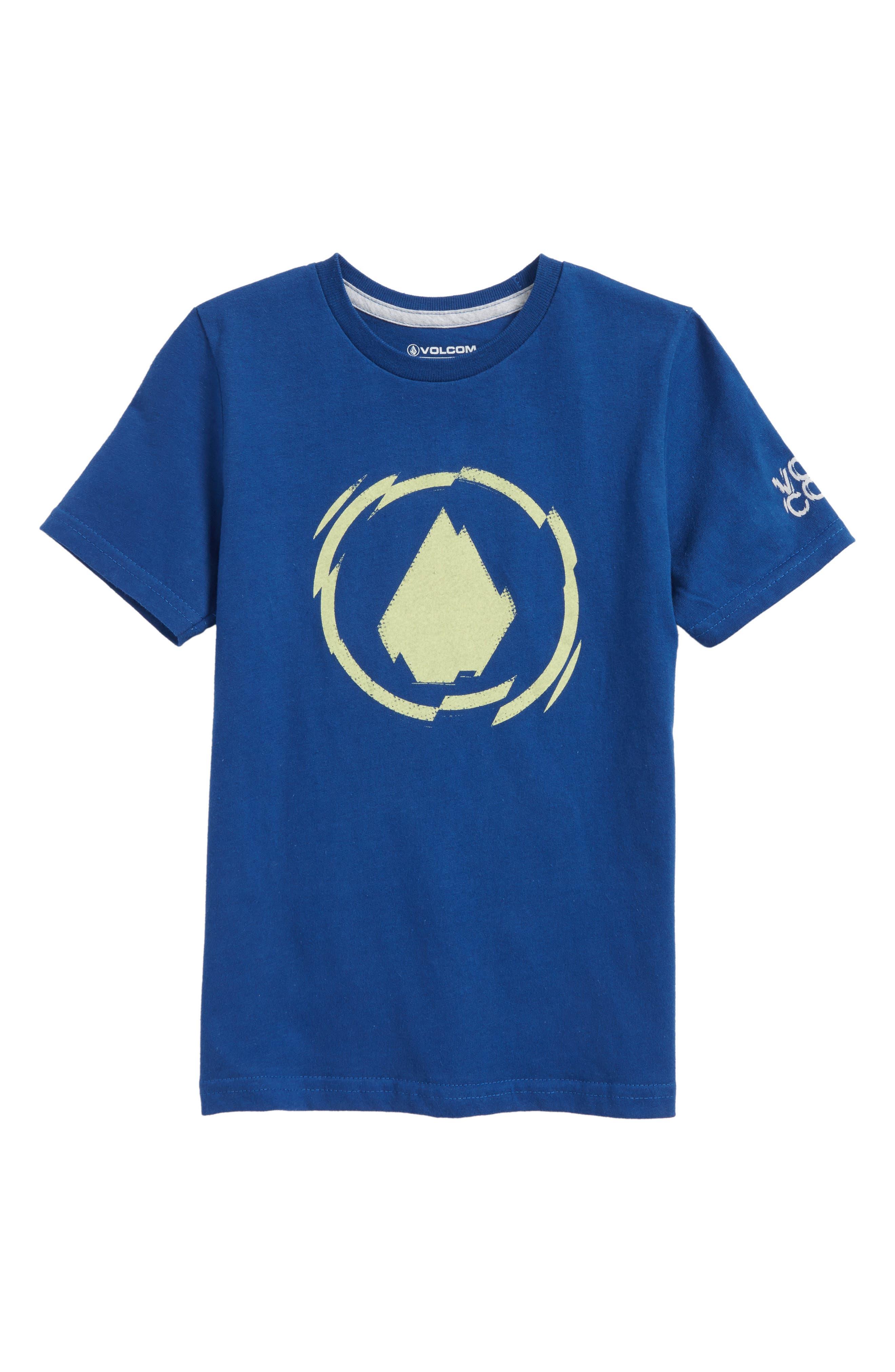 Shatter T-Shirt,                         Main,                         color, Camper Blue