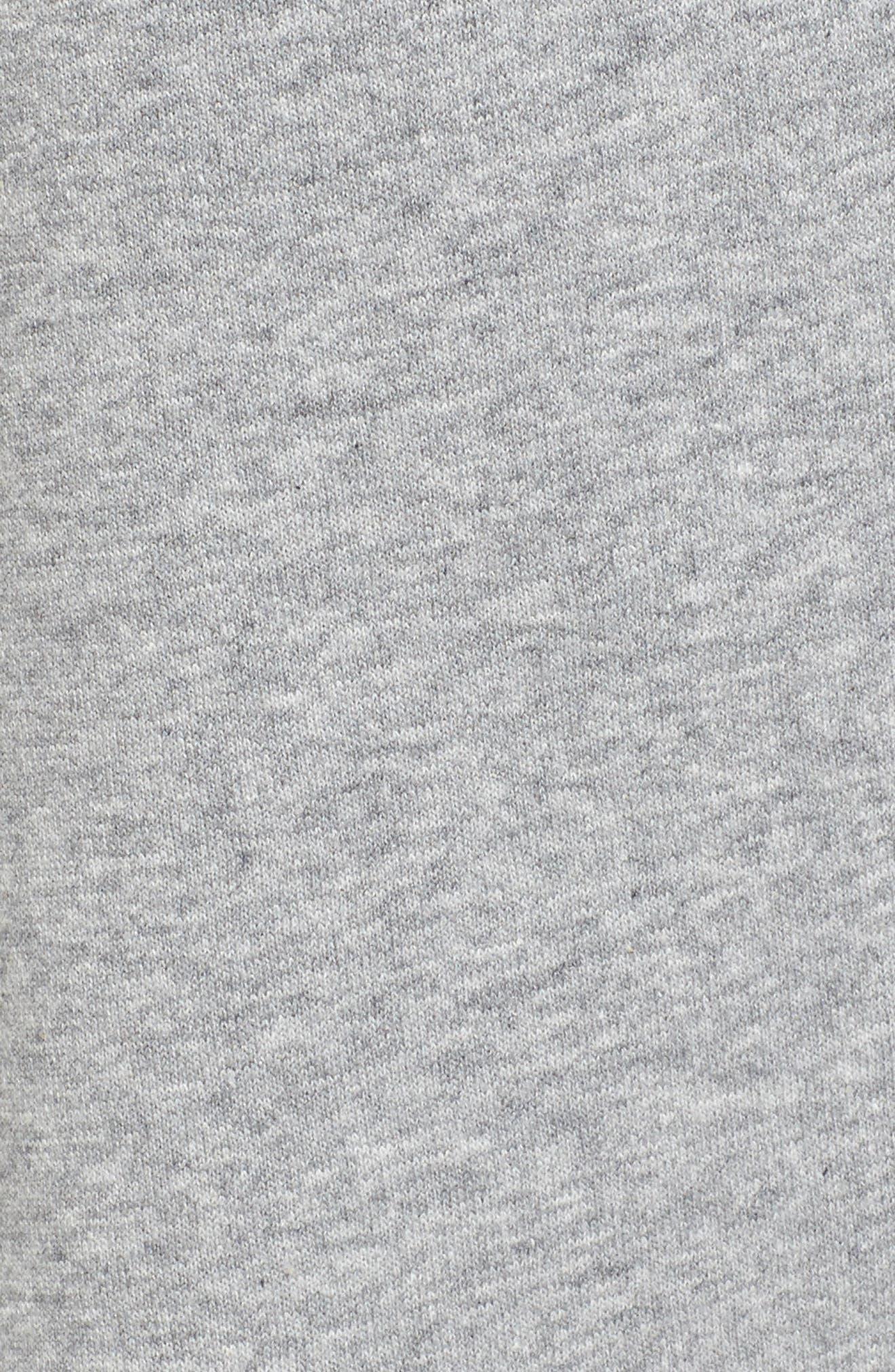 Icon Fleece Pants,                             Alternate thumbnail 5, color,                             Dark Steel Grey