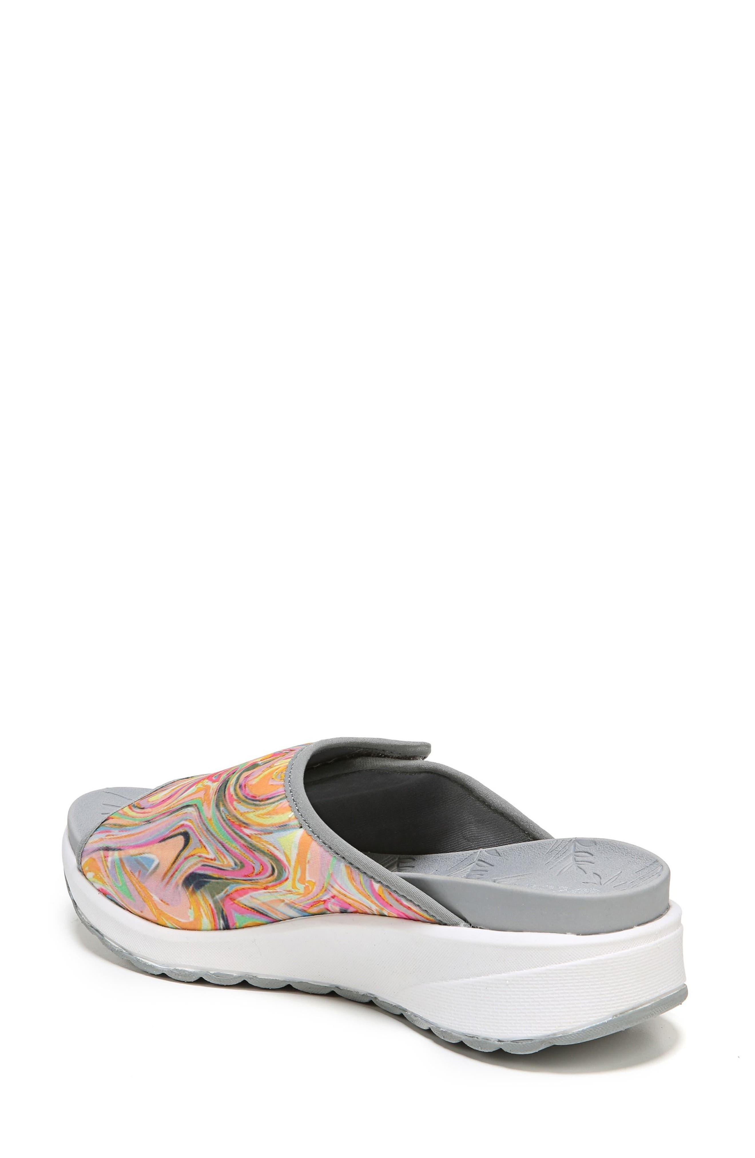 Galaxy Slide Sandal,                             Alternate thumbnail 2, color,                             Lava Fabric