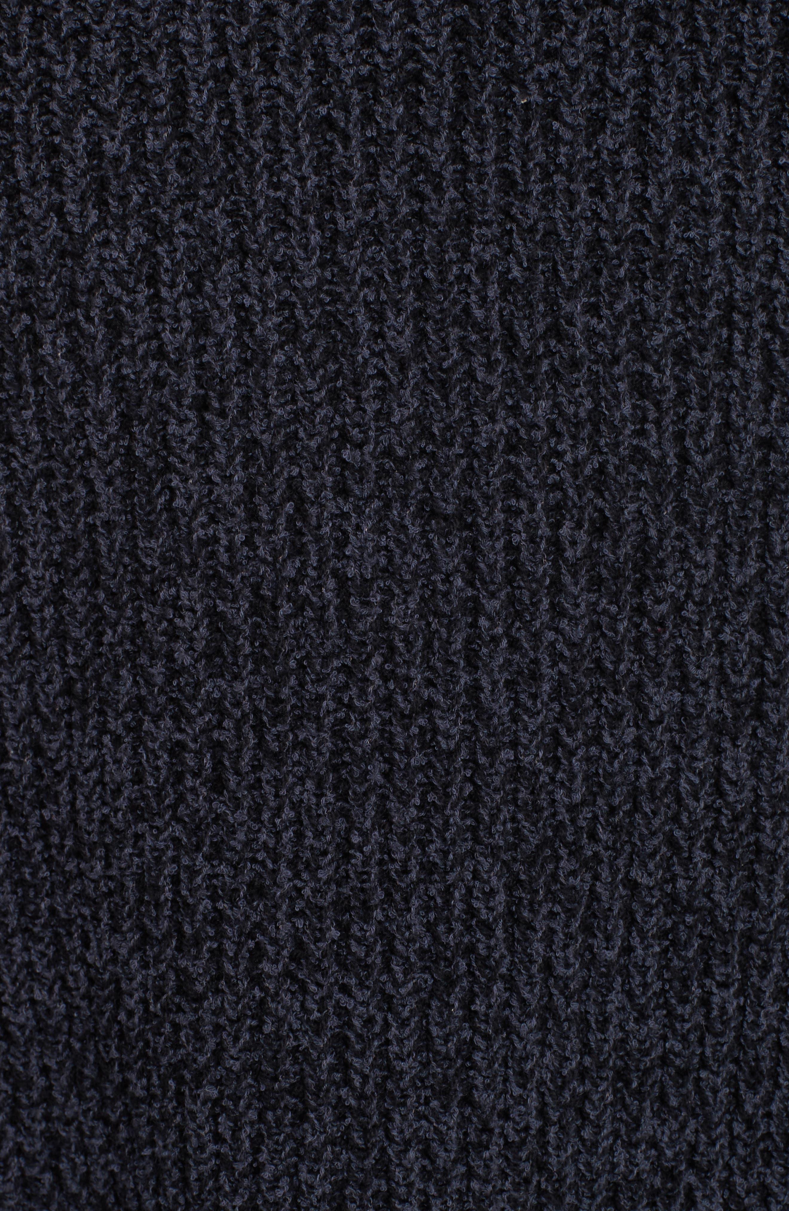 Low Tide Cardigan,                             Alternate thumbnail 5, color,                             Dark Grey