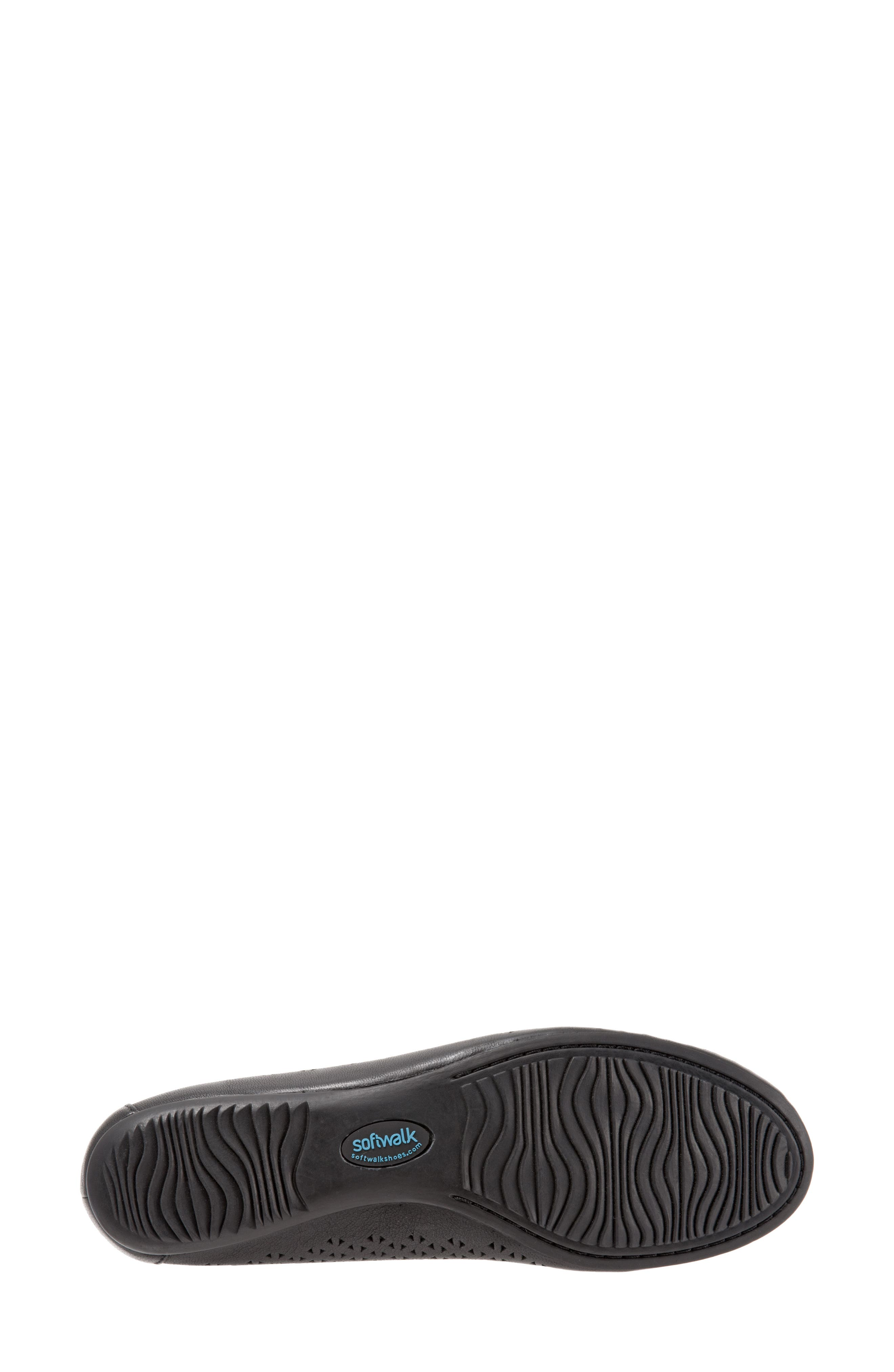 Napa Flat,                             Alternate thumbnail 8, color,                             Black Leather