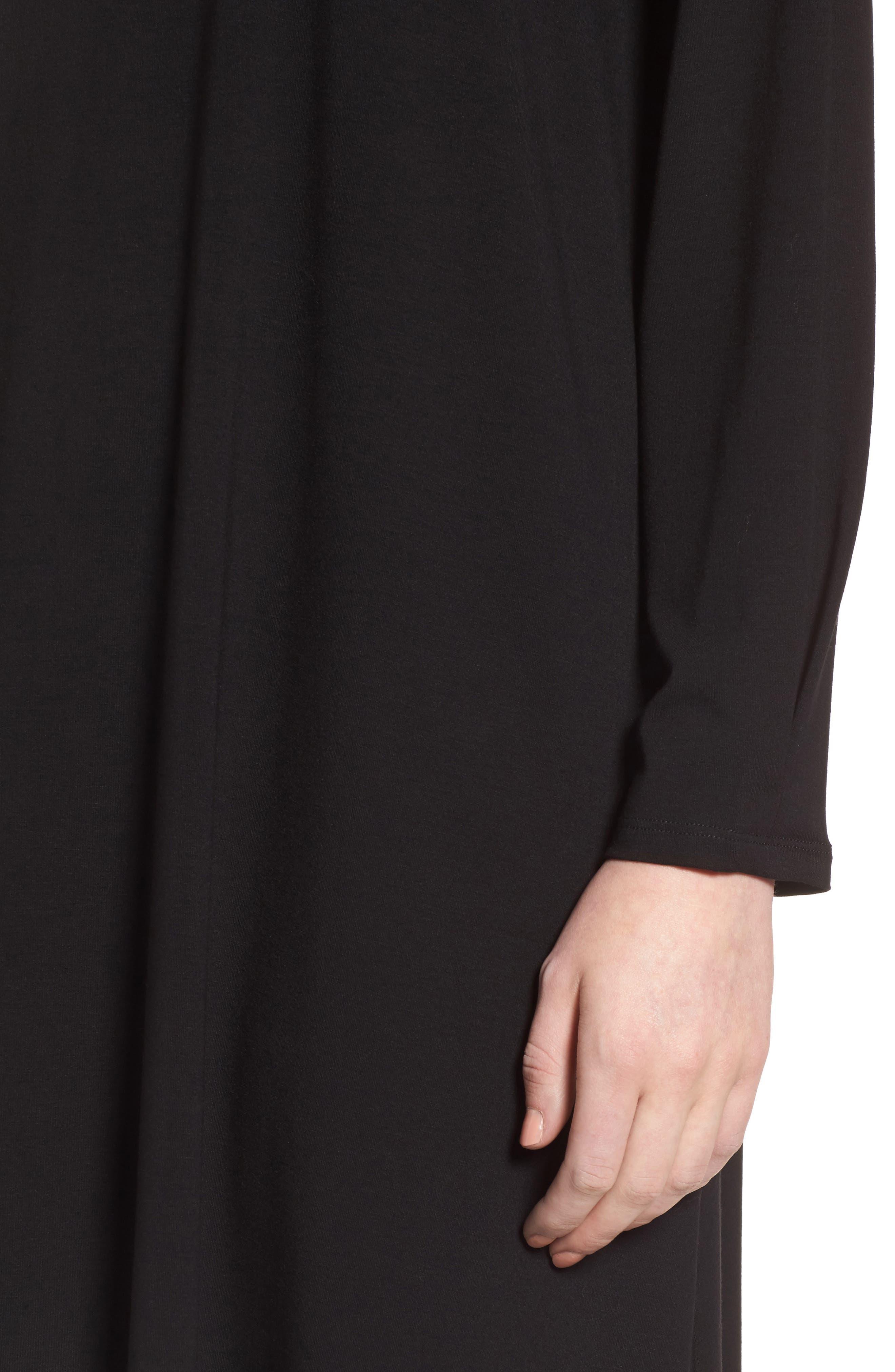 Alternate Image 4  - Eileen Fisher Jersey Shift Dress