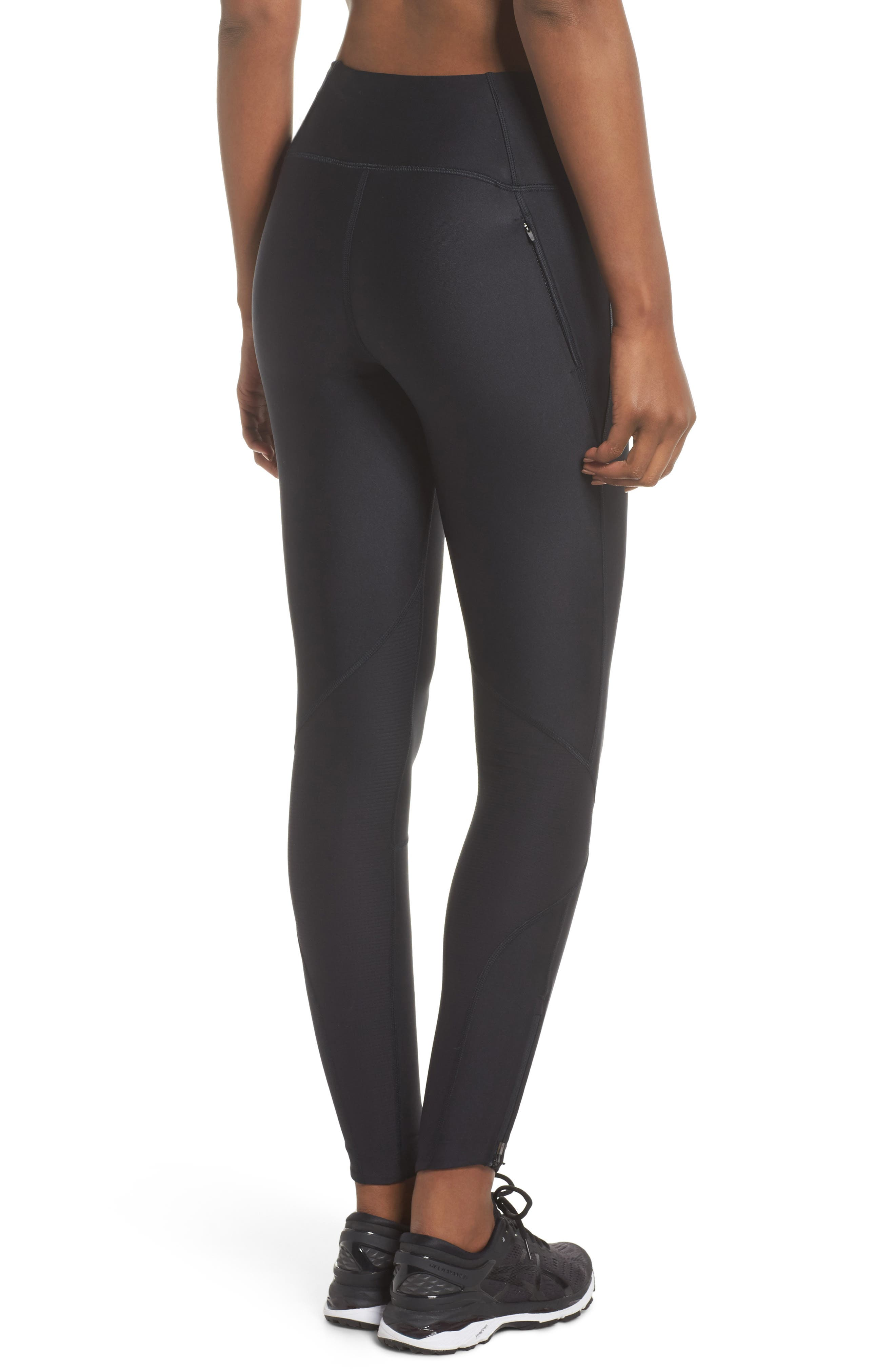 Fly Fast Tights,                             Alternate thumbnail 2, color,                             Black