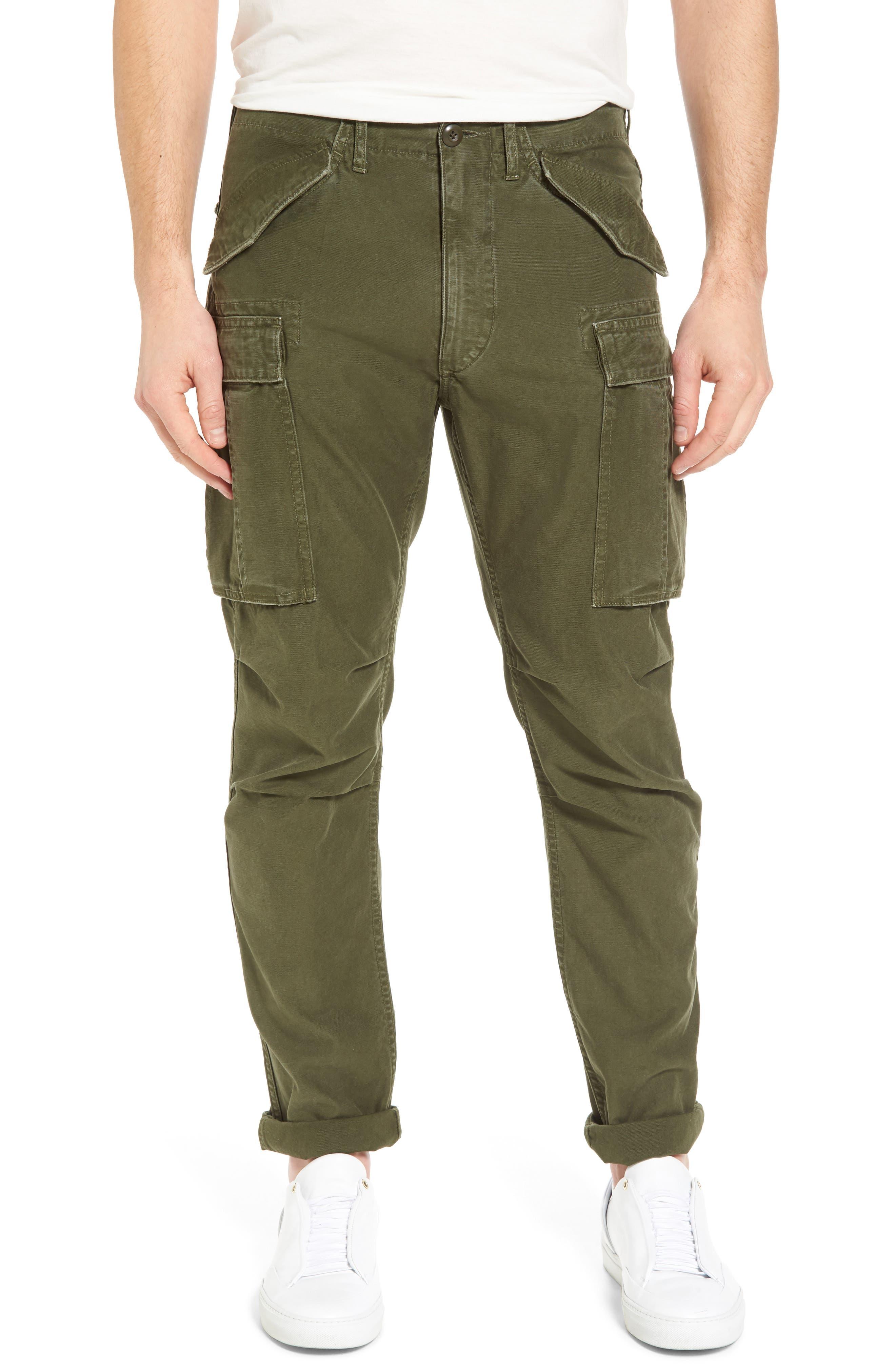 FRAME Straight Leg Cargo Pants