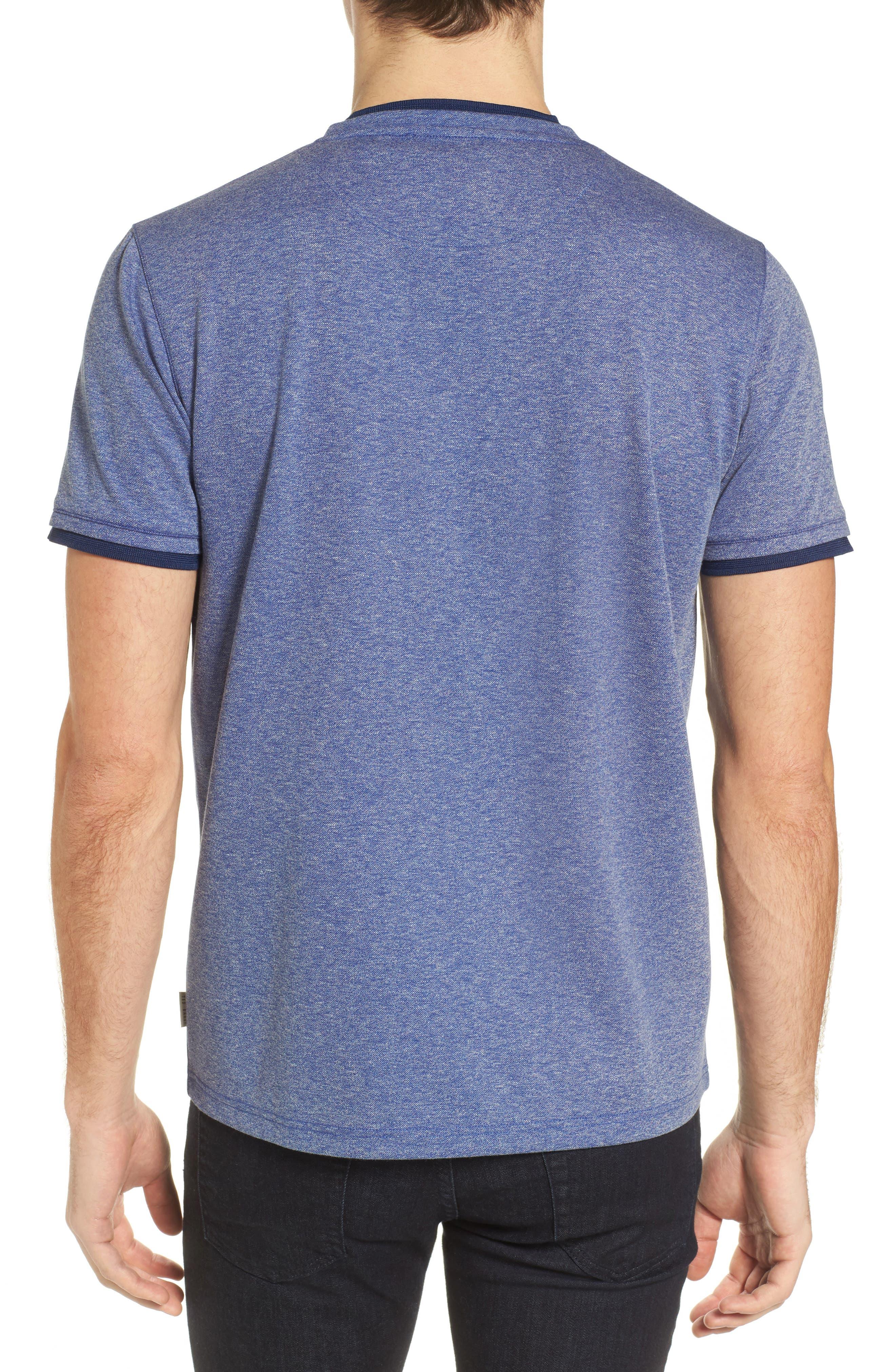 Alternate Image 2  - Ted Baker London Climb Mouline Layered Pocket T-Shirt
