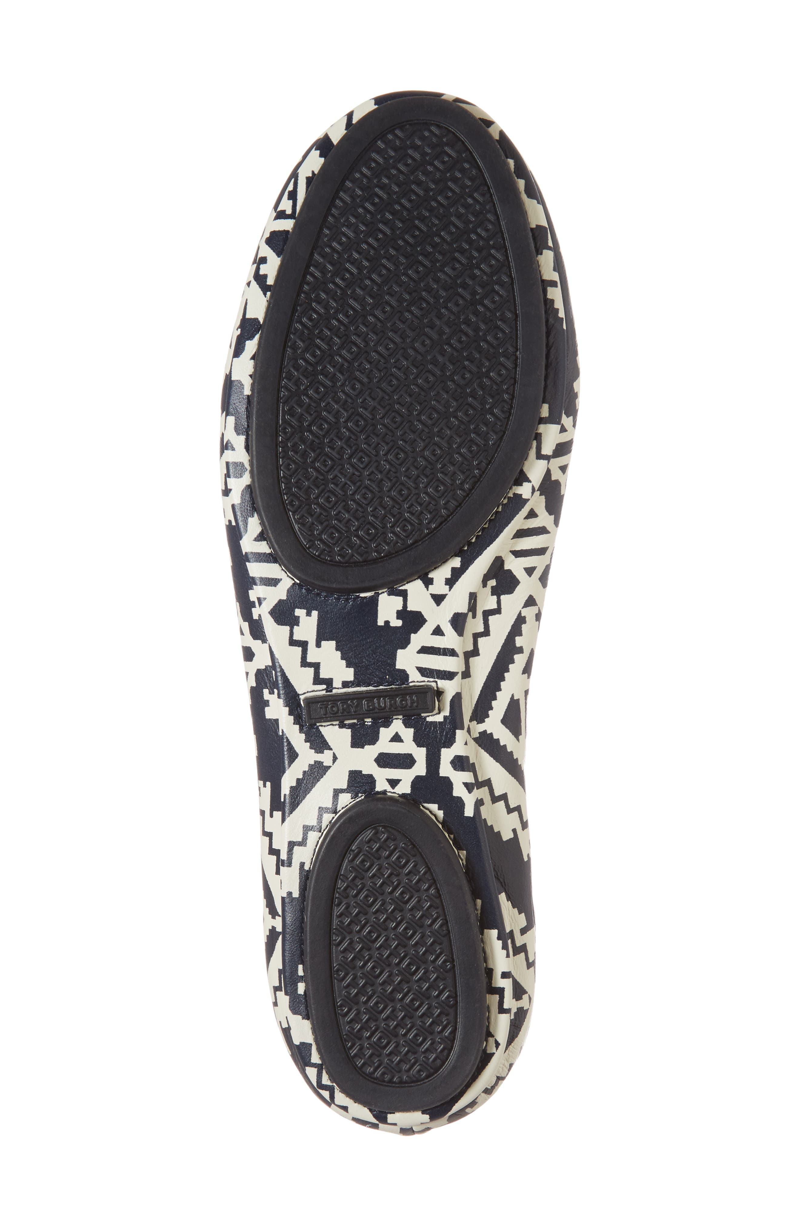 'Minnie' Travel Ballet Flat,                             Alternate thumbnail 6, color,                             Tapestry Geo