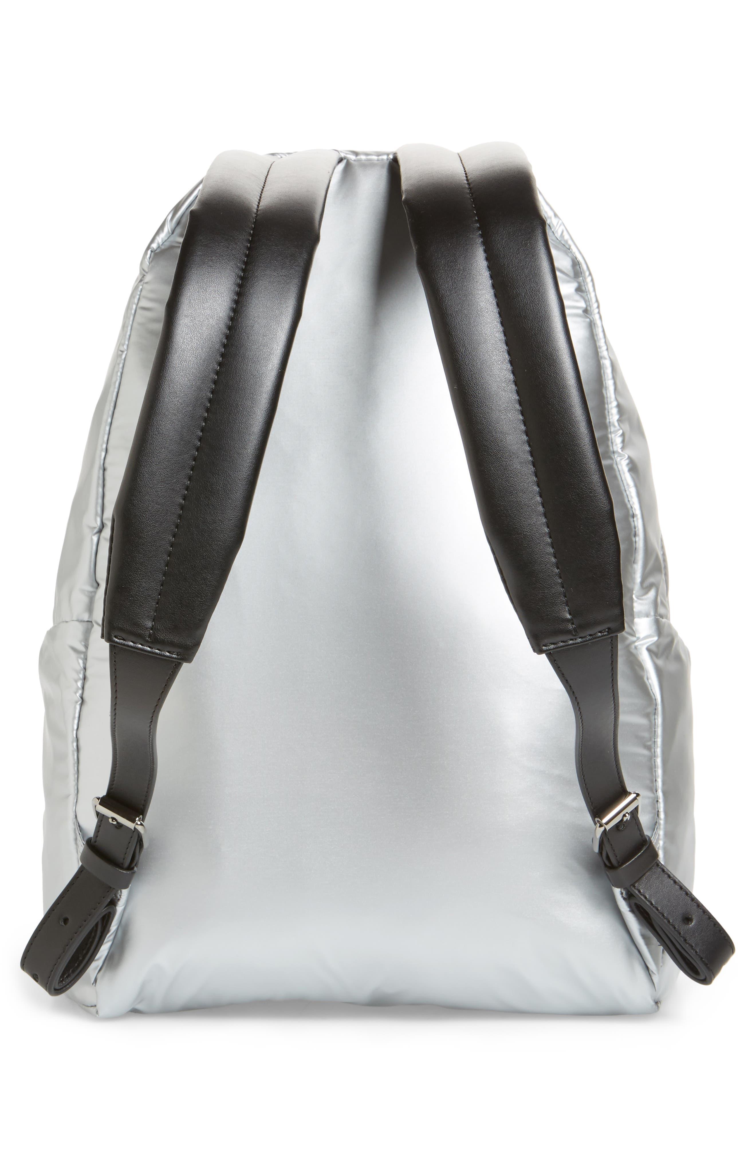 Alternate Image 3  - Stella McCartney Falabella Metallic Nylon Backpack
