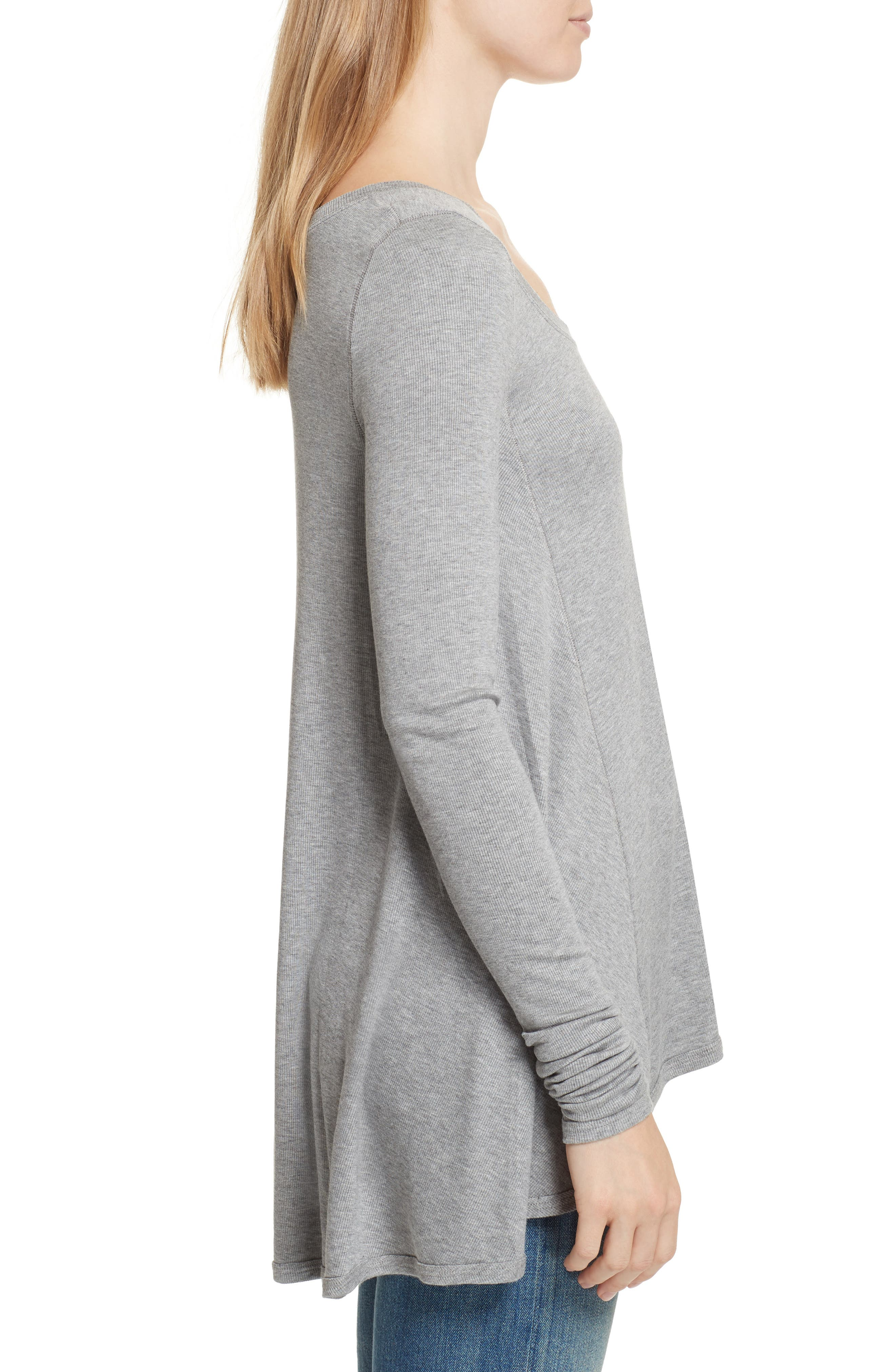 We the Free by Free People January Tee,                             Alternate thumbnail 3, color,                             Grey