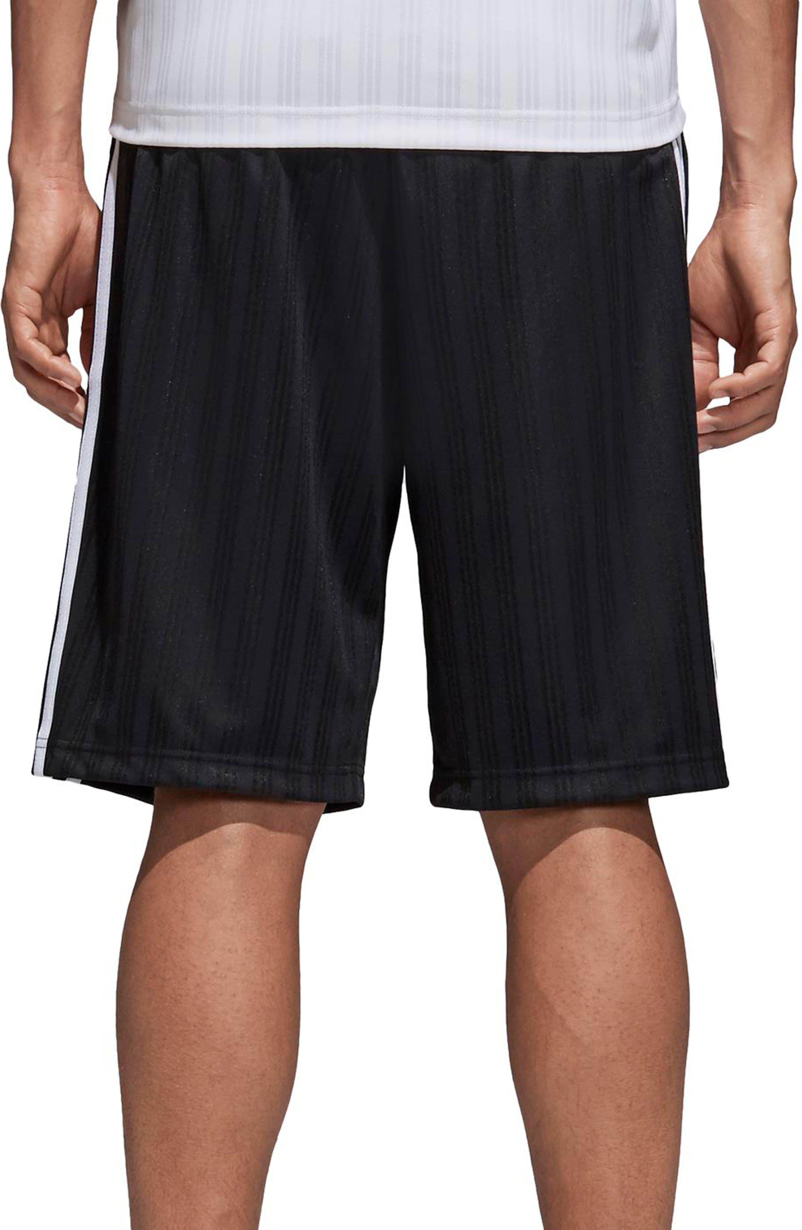 Football Shorts,                             Alternate thumbnail 2, color,                             Black