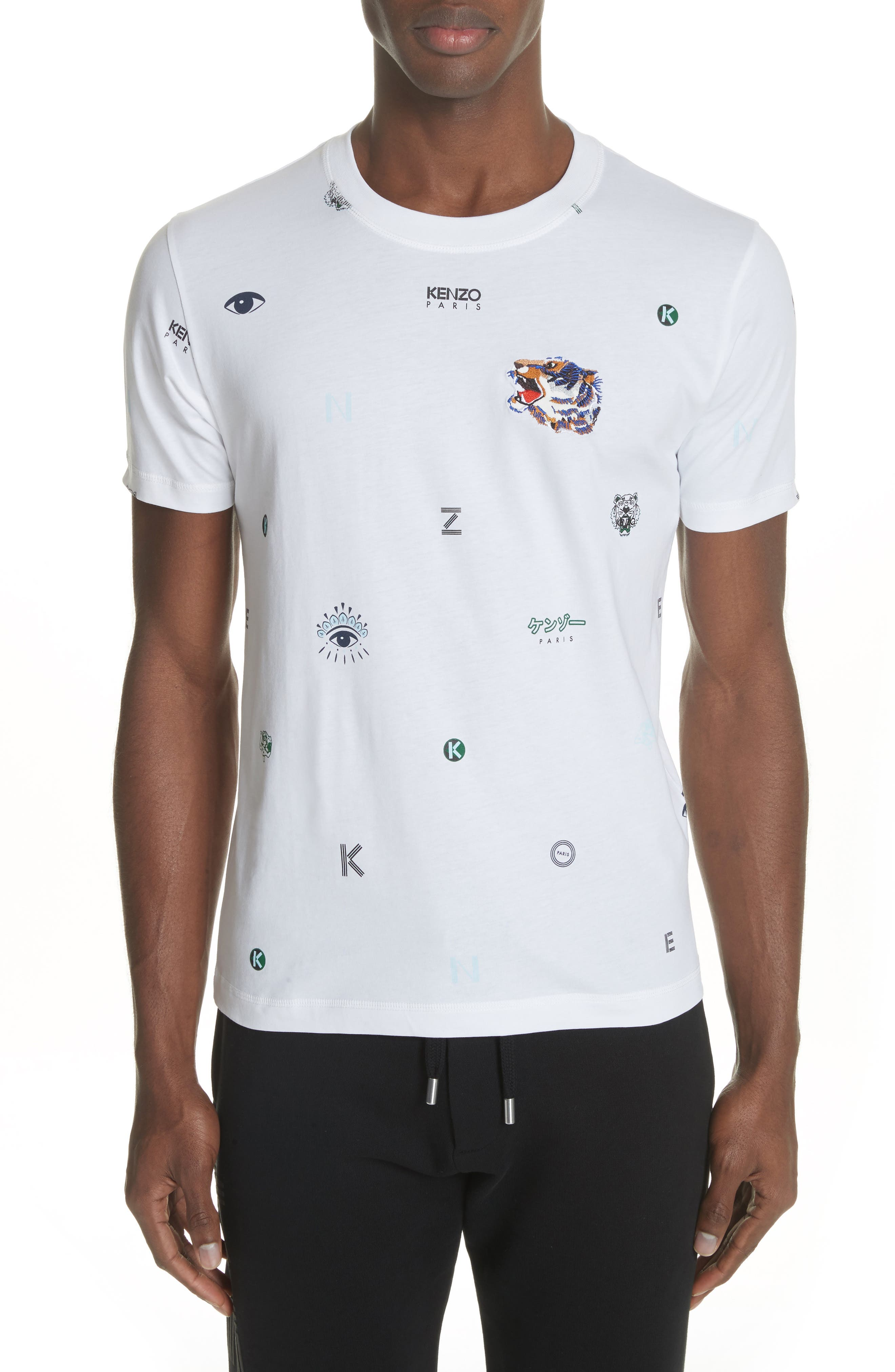 Ryuichi Sakamoto Graphic T-Shirt,                             Main thumbnail 1, color,                             White