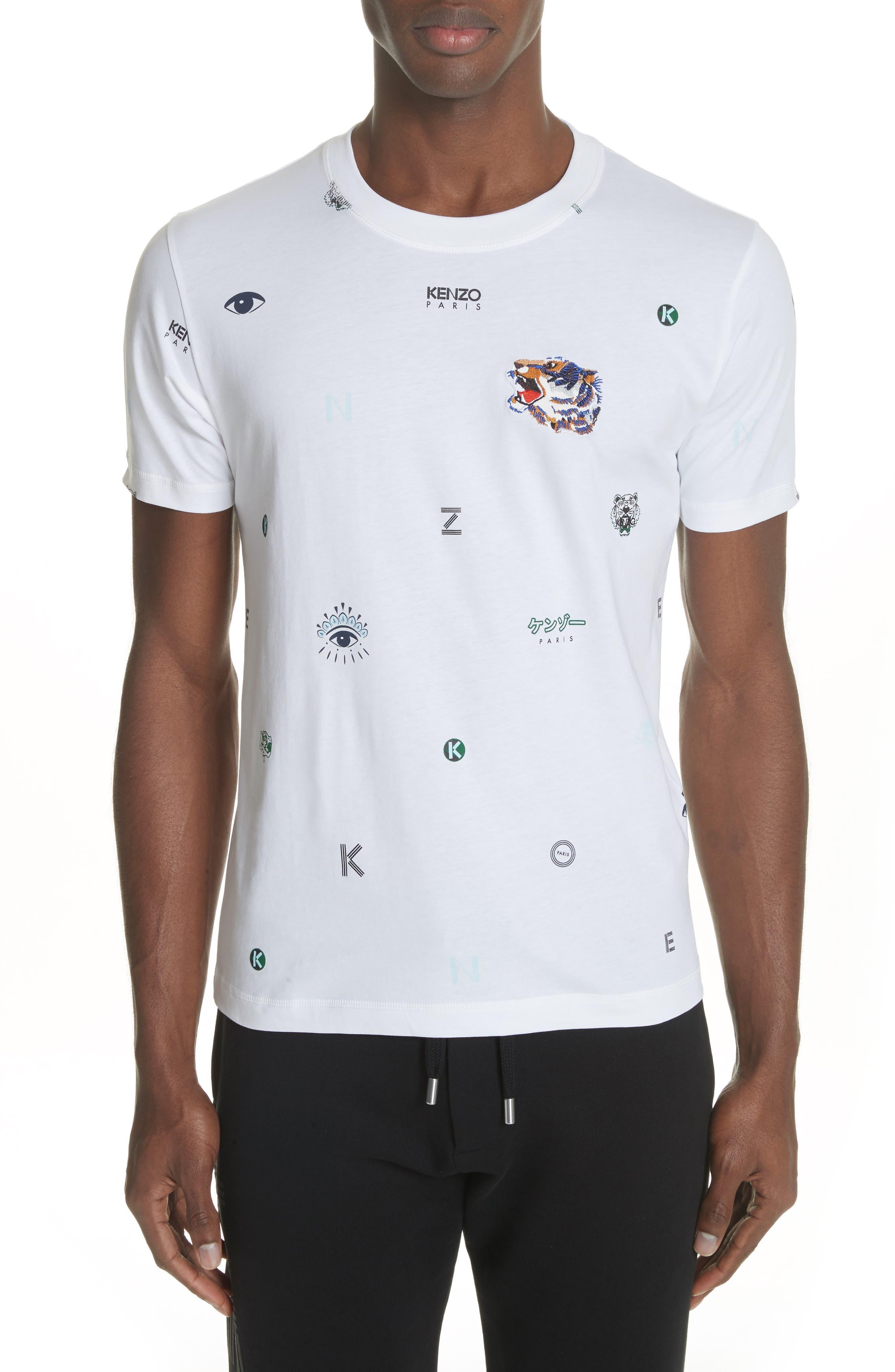 Ryuichi Sakamoto Graphic T-Shirt,                         Main,                         color, White