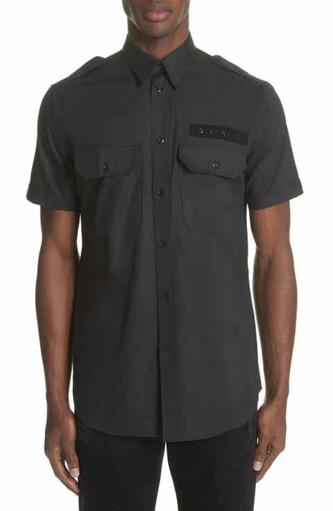 Men's Casual Button-Down Shirts Designer Collections: Givenchy ...