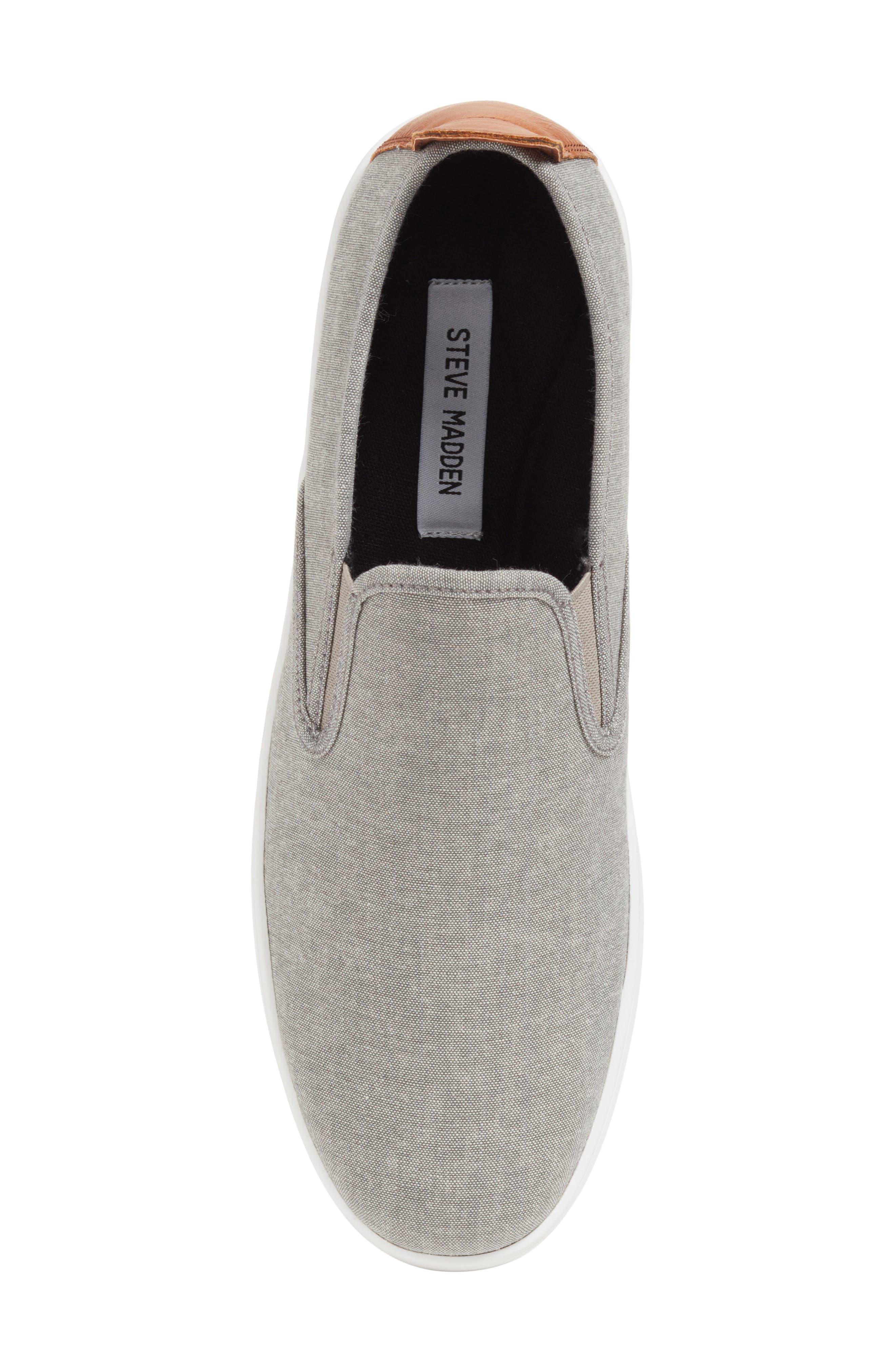 Felix Slip-On Sneaker,                             Alternate thumbnail 5, color,                             Grey