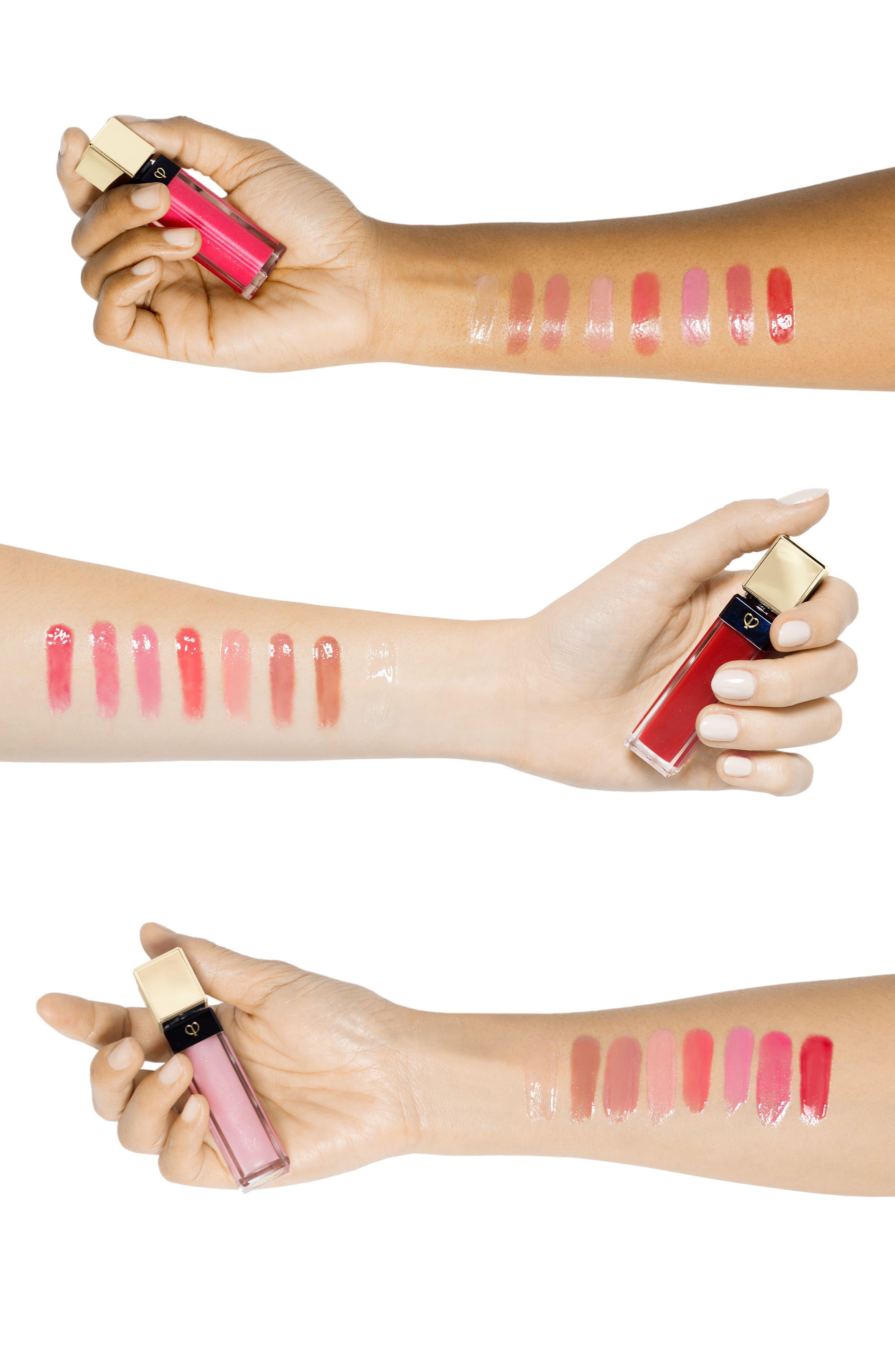 Alternate Image 3  - Clé de Peau Beauté Radiant Lip Gloss