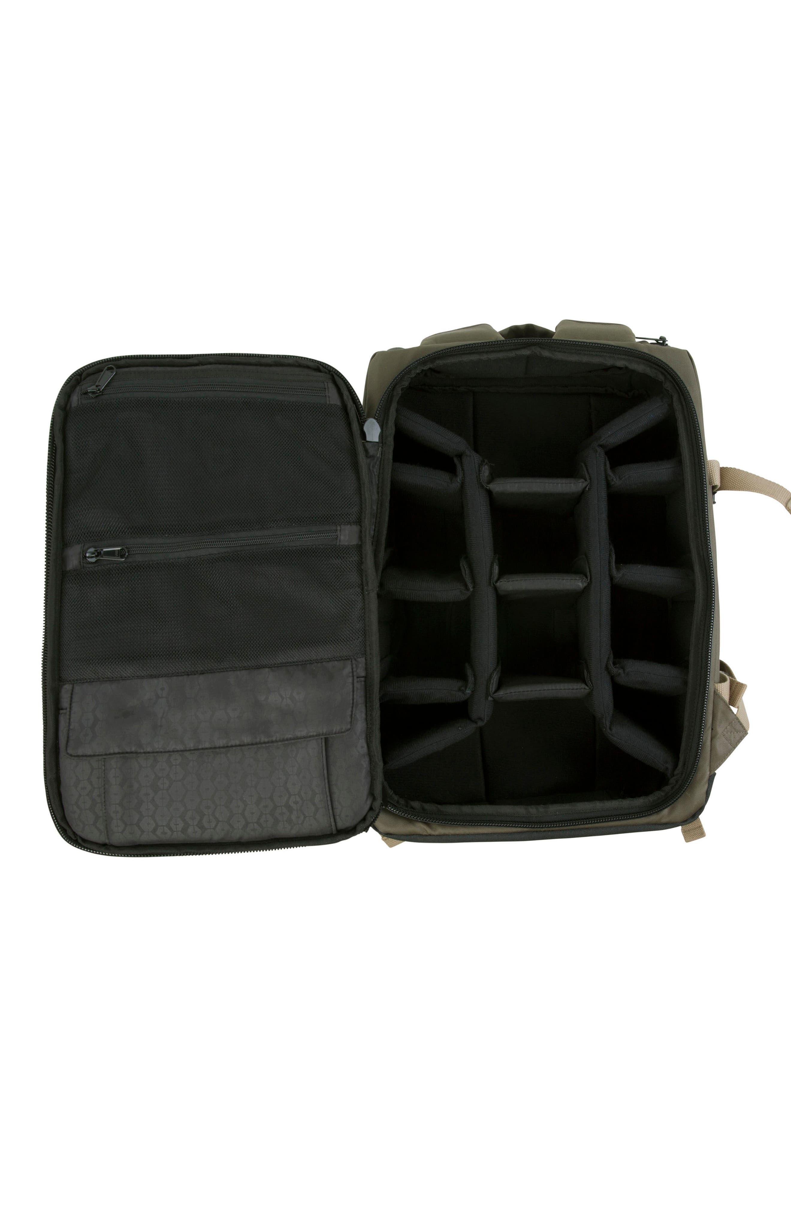 DSLR Camera Backpack,                             Alternate thumbnail 5, color,                             Olive