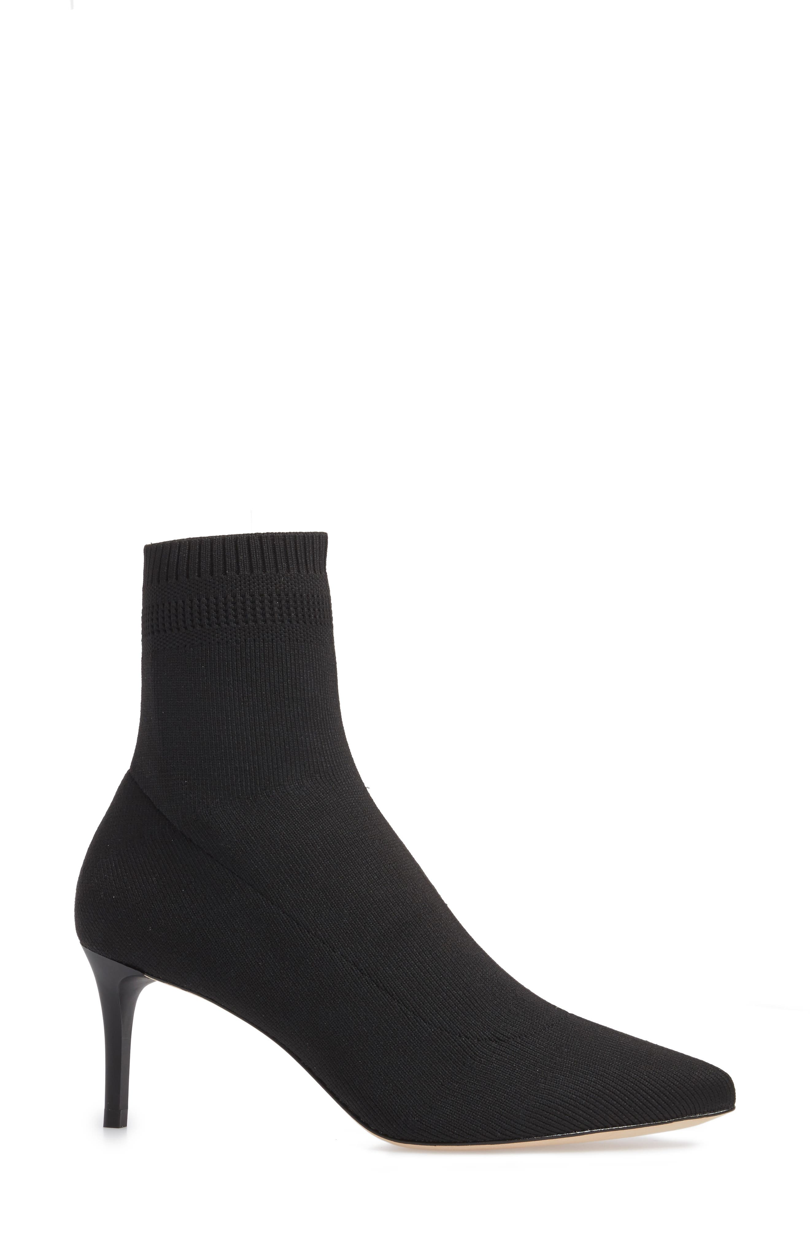 Daphne Bootie,                             Alternate thumbnail 3, color,                             Black