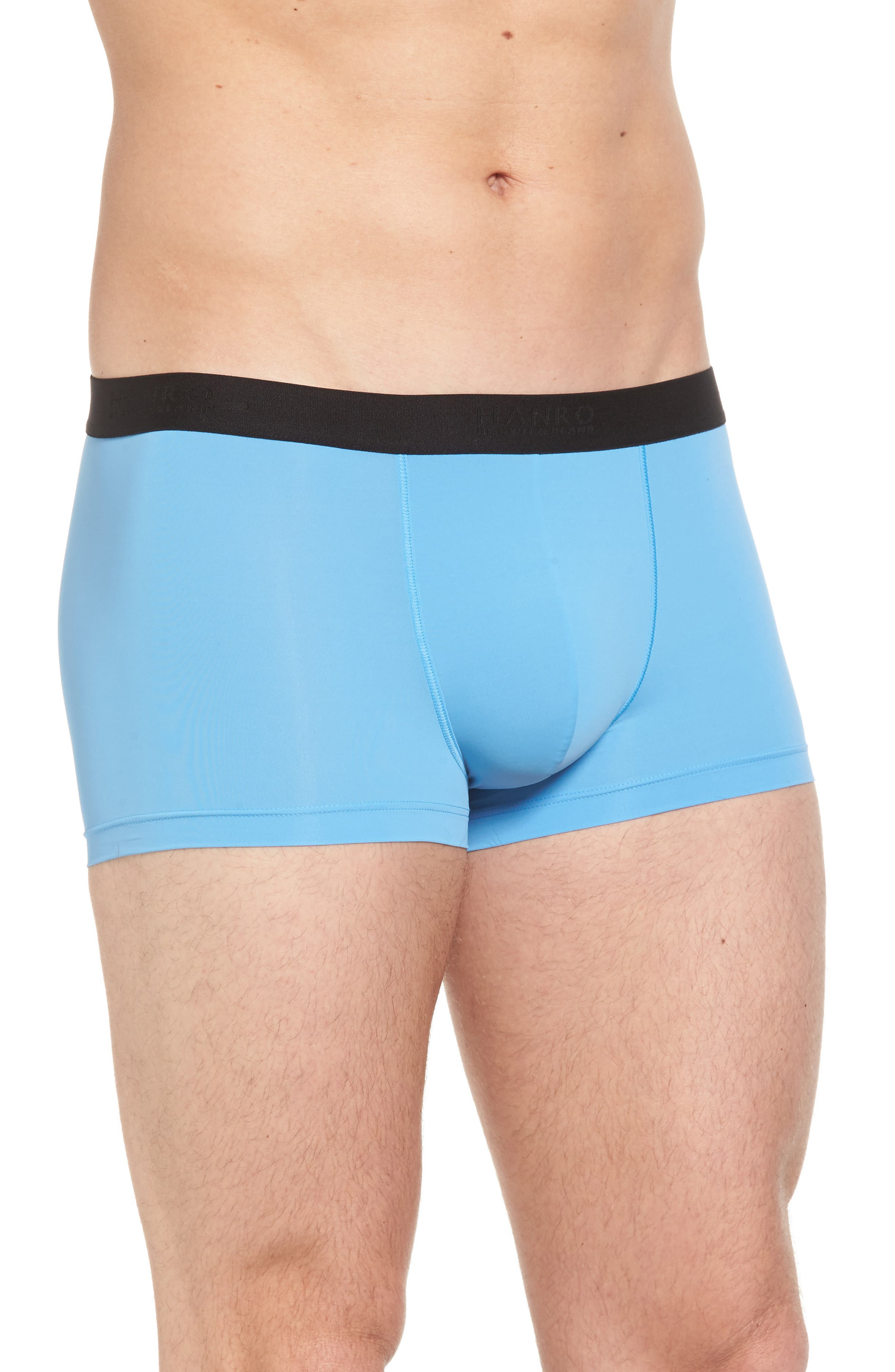 Micro Touch Boxer Brief,                             Alternate thumbnail 3, color,                             Azure