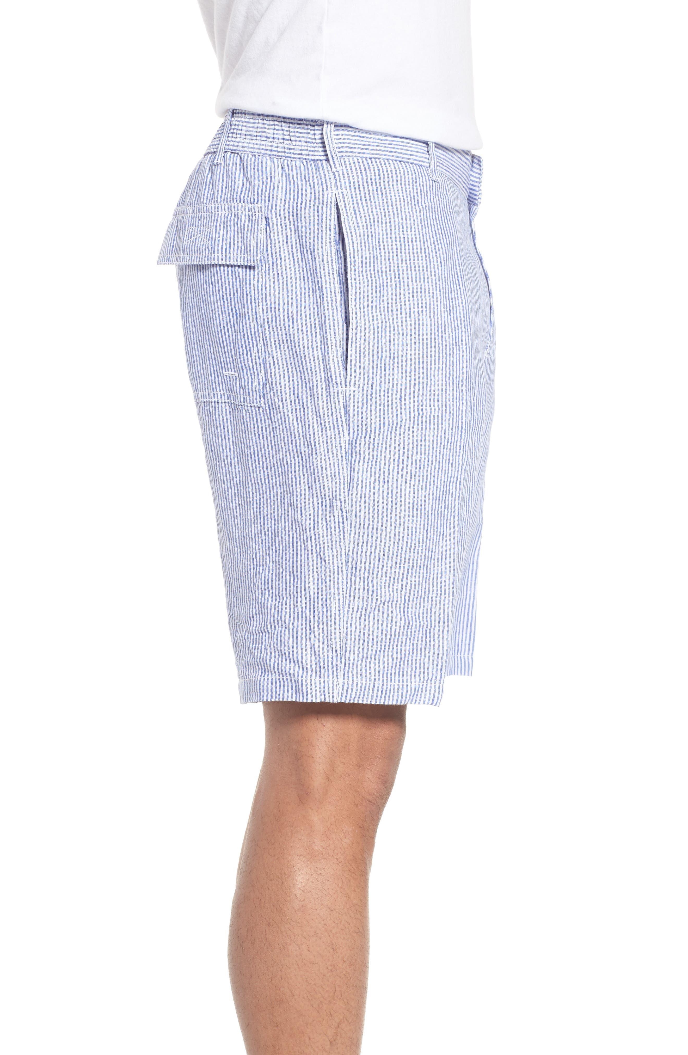 Alternate Image 3  - Vilebrequin Stripe Linen Bermuda Shorts