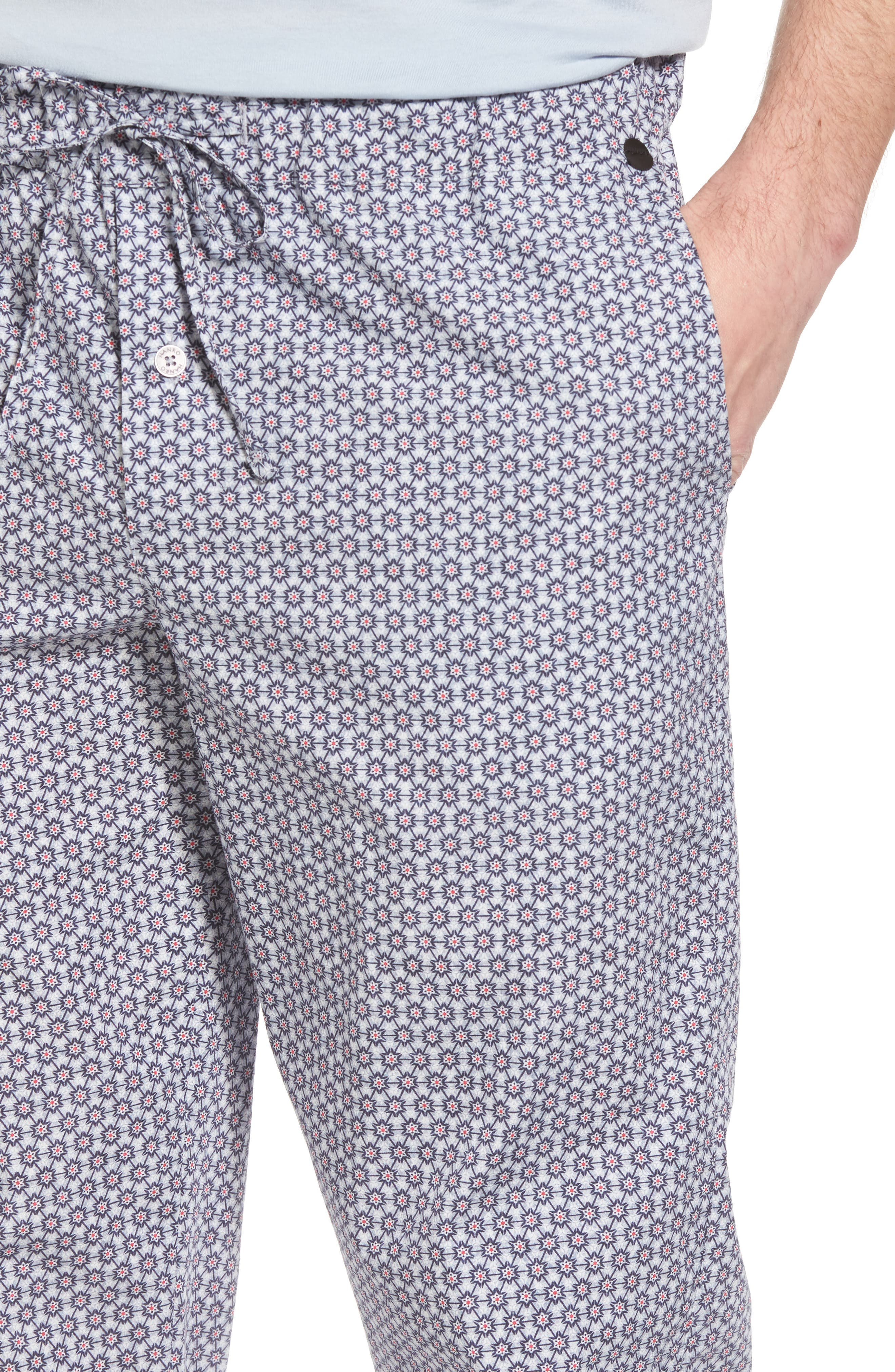 Night & Day Woven Lounge Pants,                             Alternate thumbnail 4, color,                             Classic Flower Print