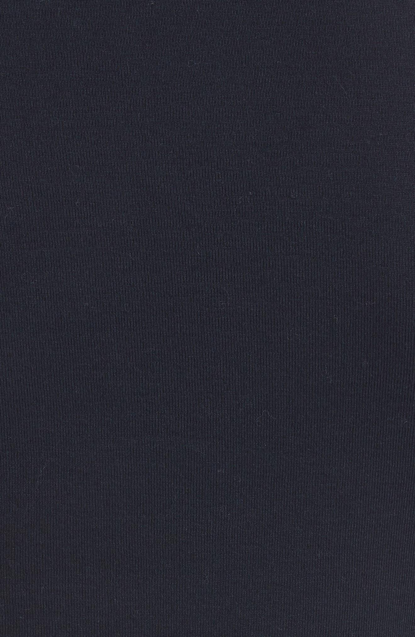 Dahlia Dot Sleeve Top,                             Alternate thumbnail 5, color,                             Midnight Navy