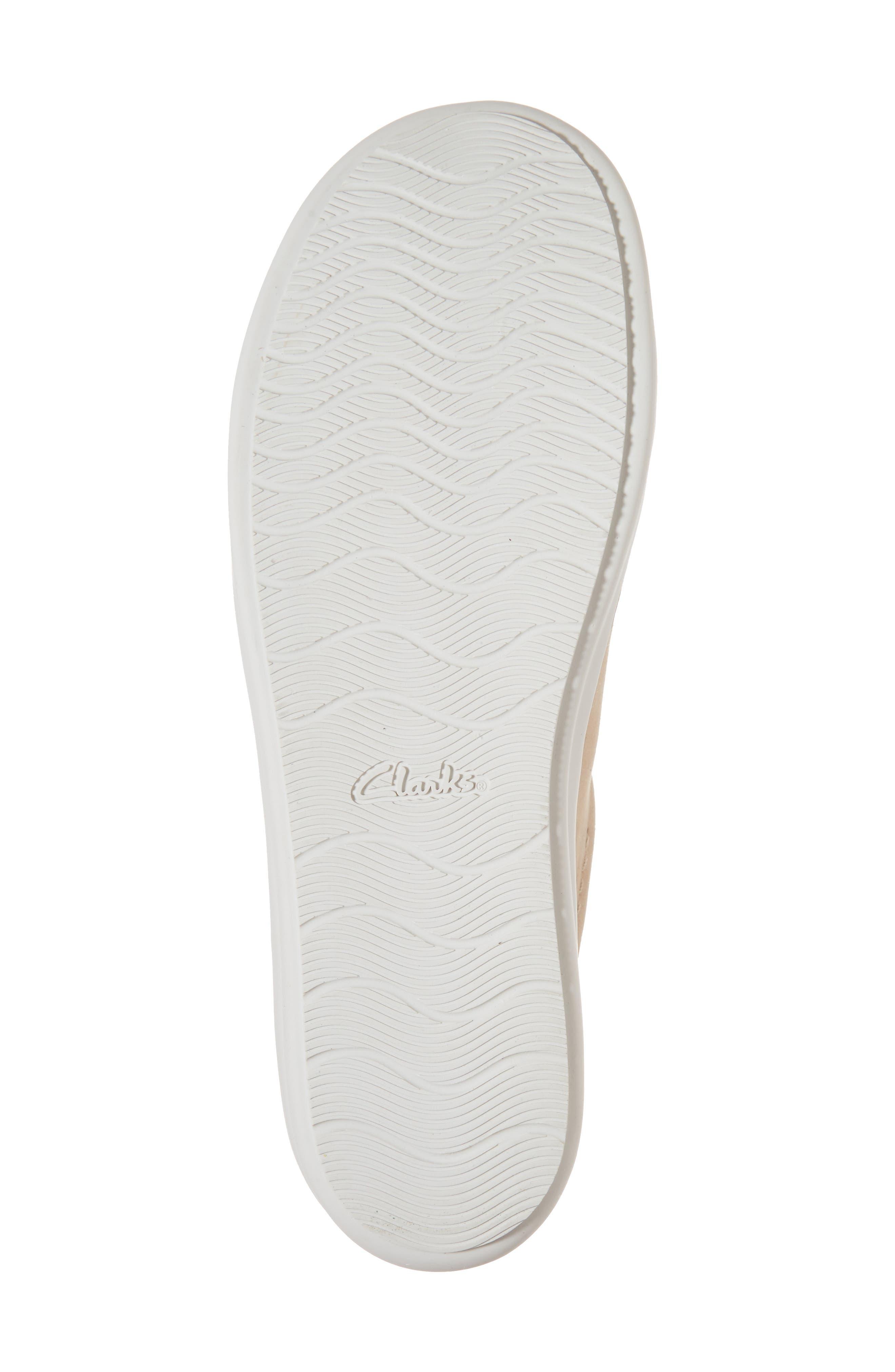 Amberlee Rosa Sneaker,                             Alternate thumbnail 6, color,                             Nude Nubuck