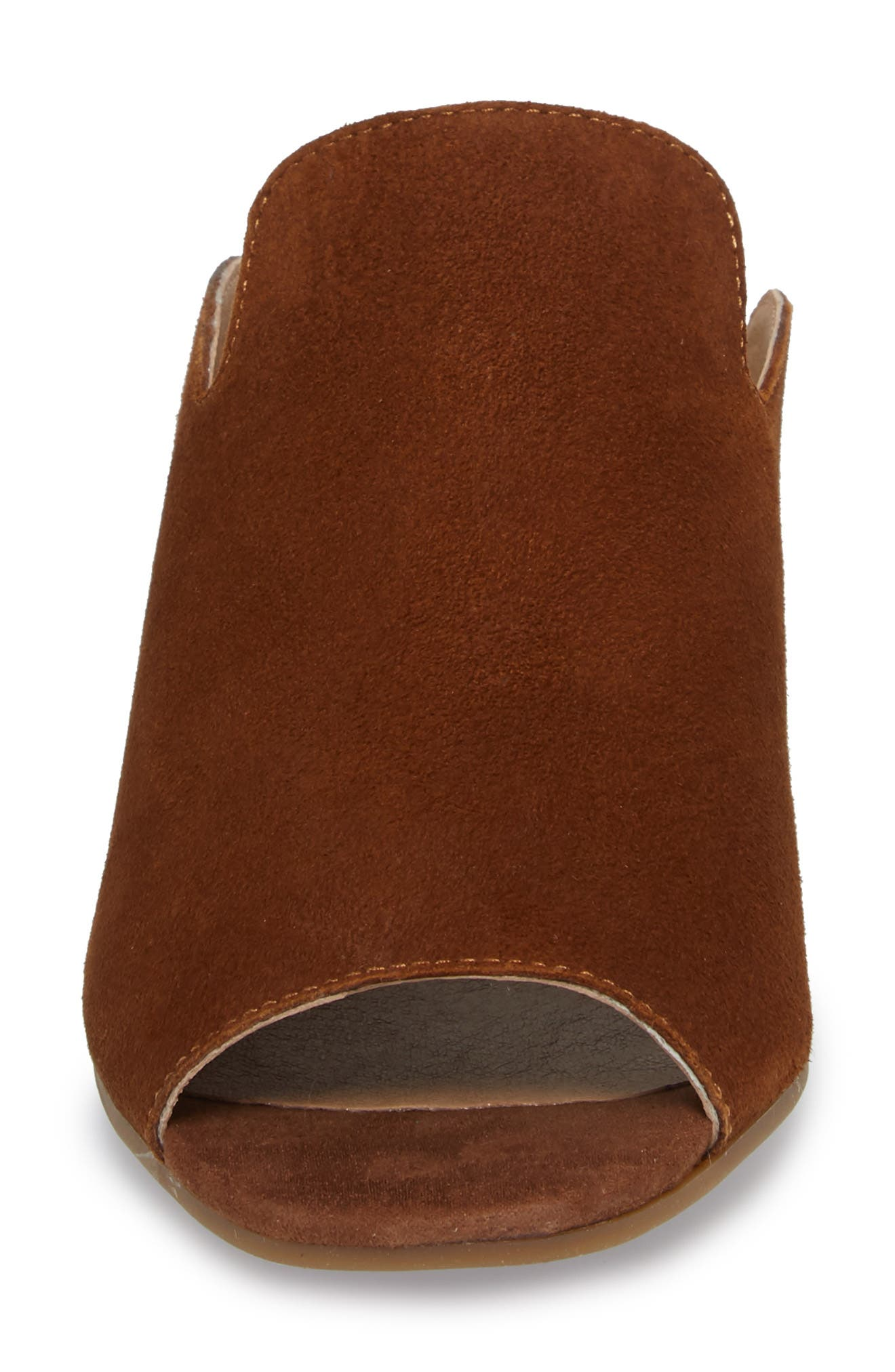 Noomrie Sandal,                             Alternate thumbnail 4, color,                             Cedar Leather