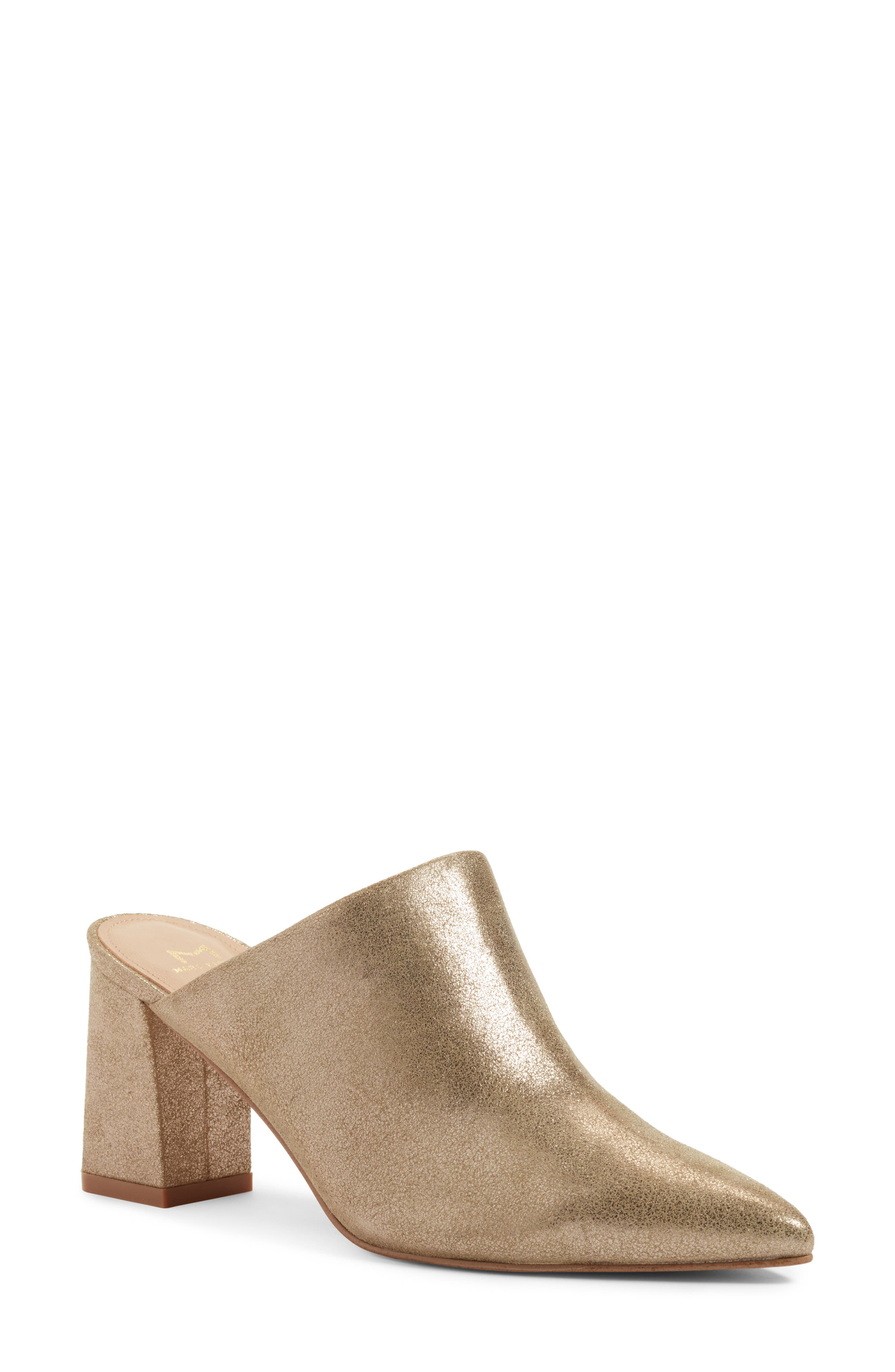 Alternate Image 1 Selected - Marc Fisher LTD Zivon Pointy Toe Mule (Women)