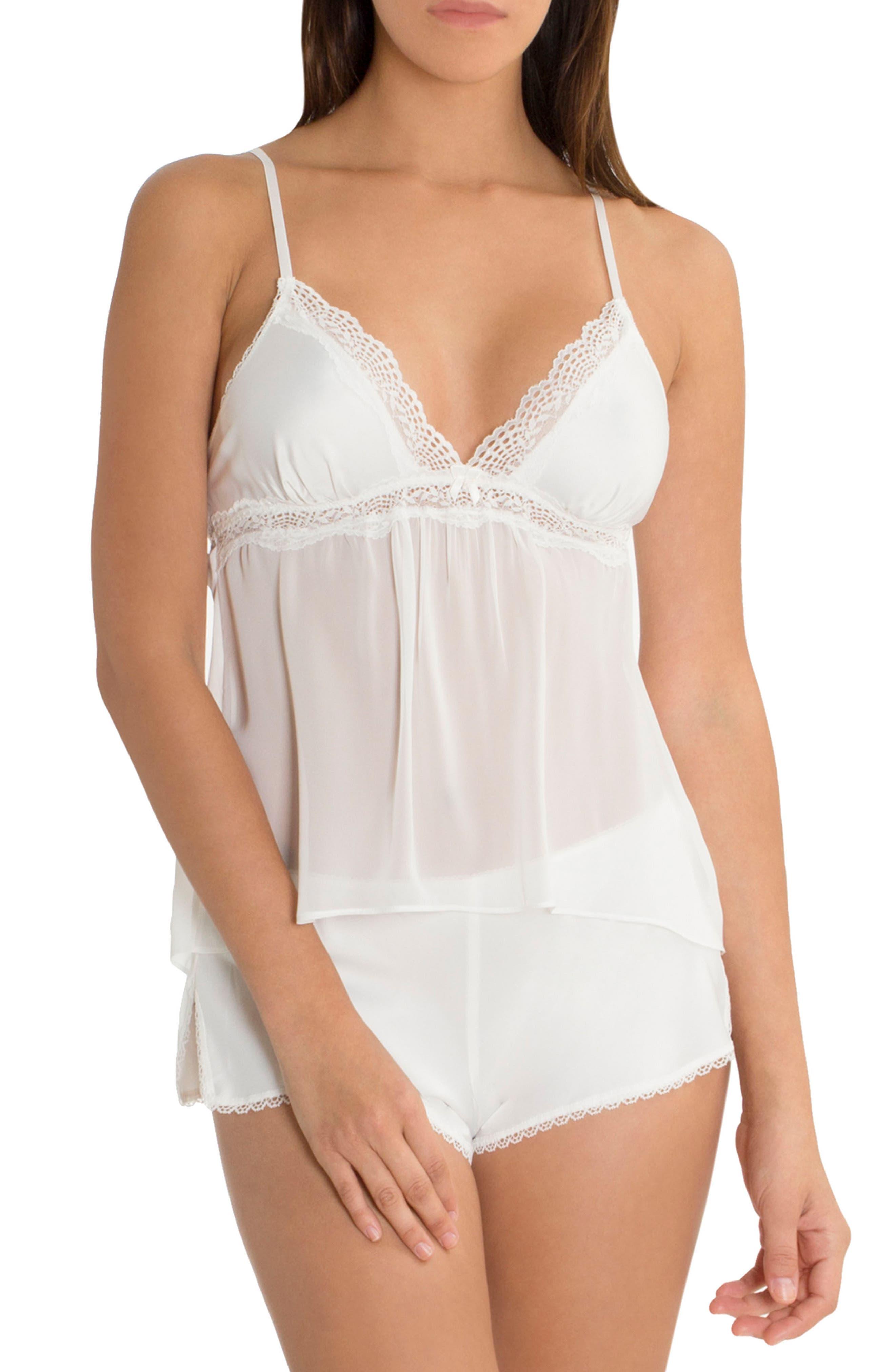 Marble Wash Pajamas,                             Main thumbnail 1, color,                             Off White