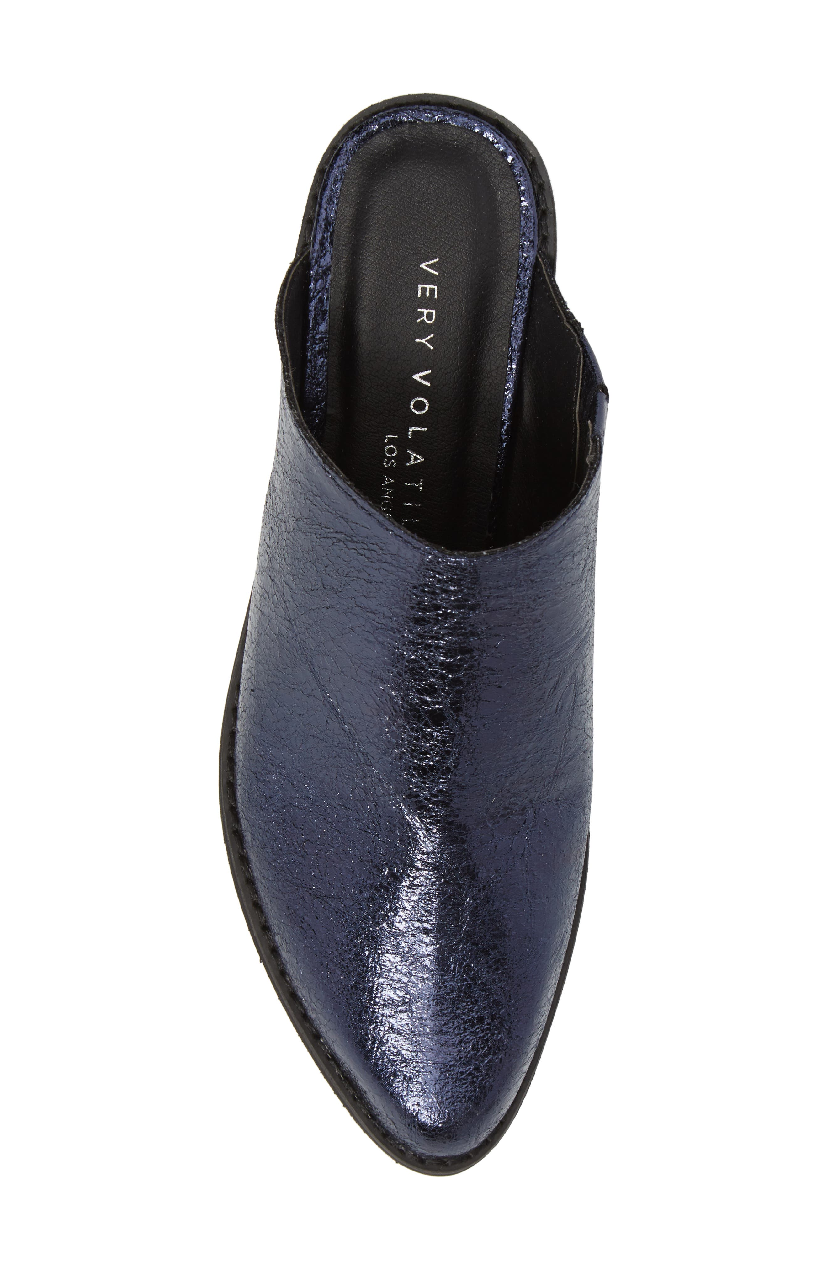 Finesse Mule,                             Alternate thumbnail 5, color,                             Navy