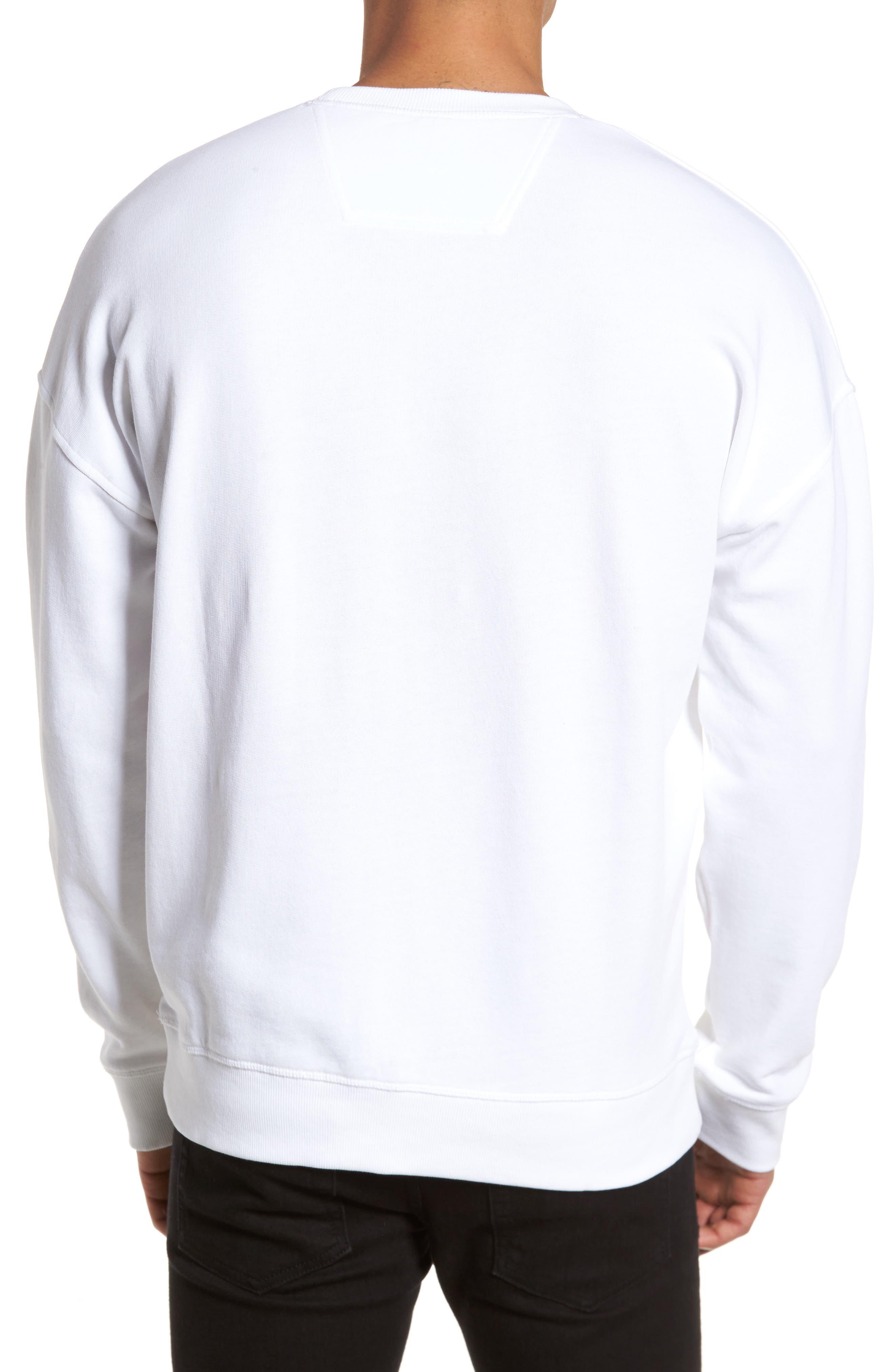 Alternate Image 2  - Calvin Klein Jeans Embroidered Sweatshirt