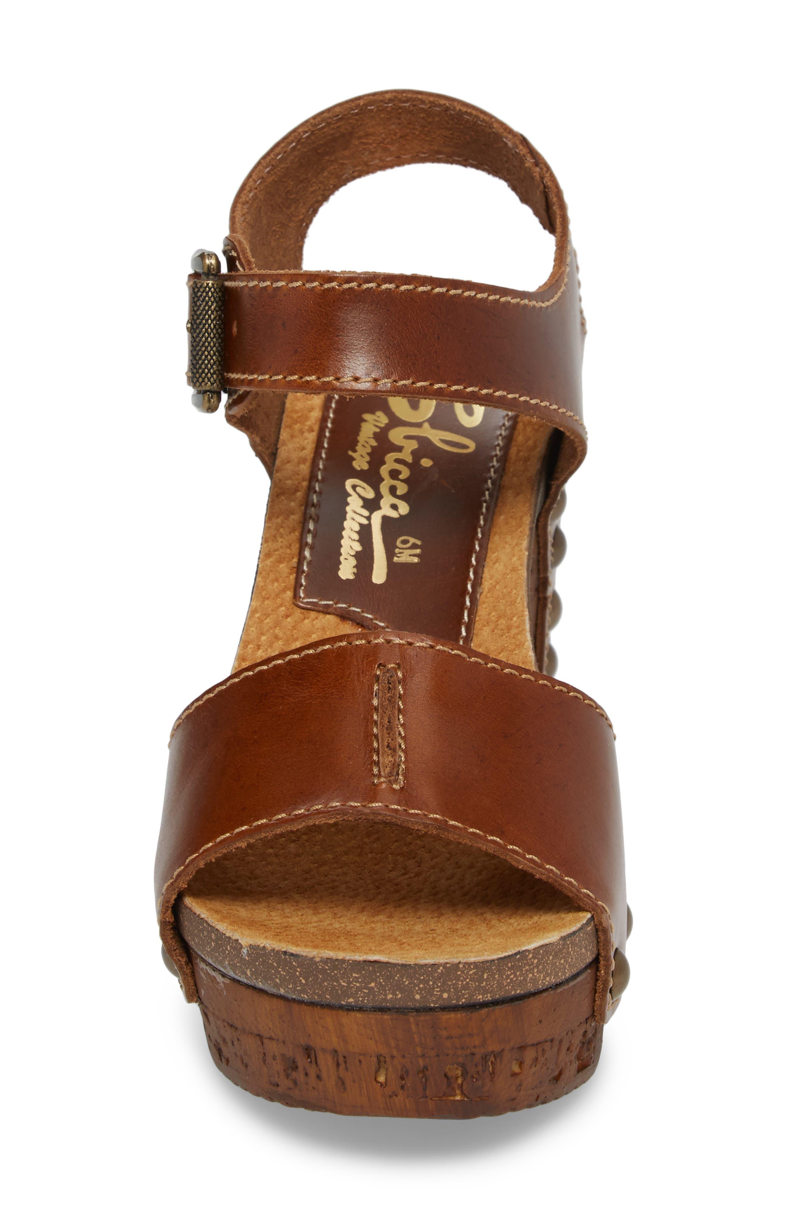 Alternate Image 4  - Sbicca Brella Studded Platform Wedge Sandal (Women)