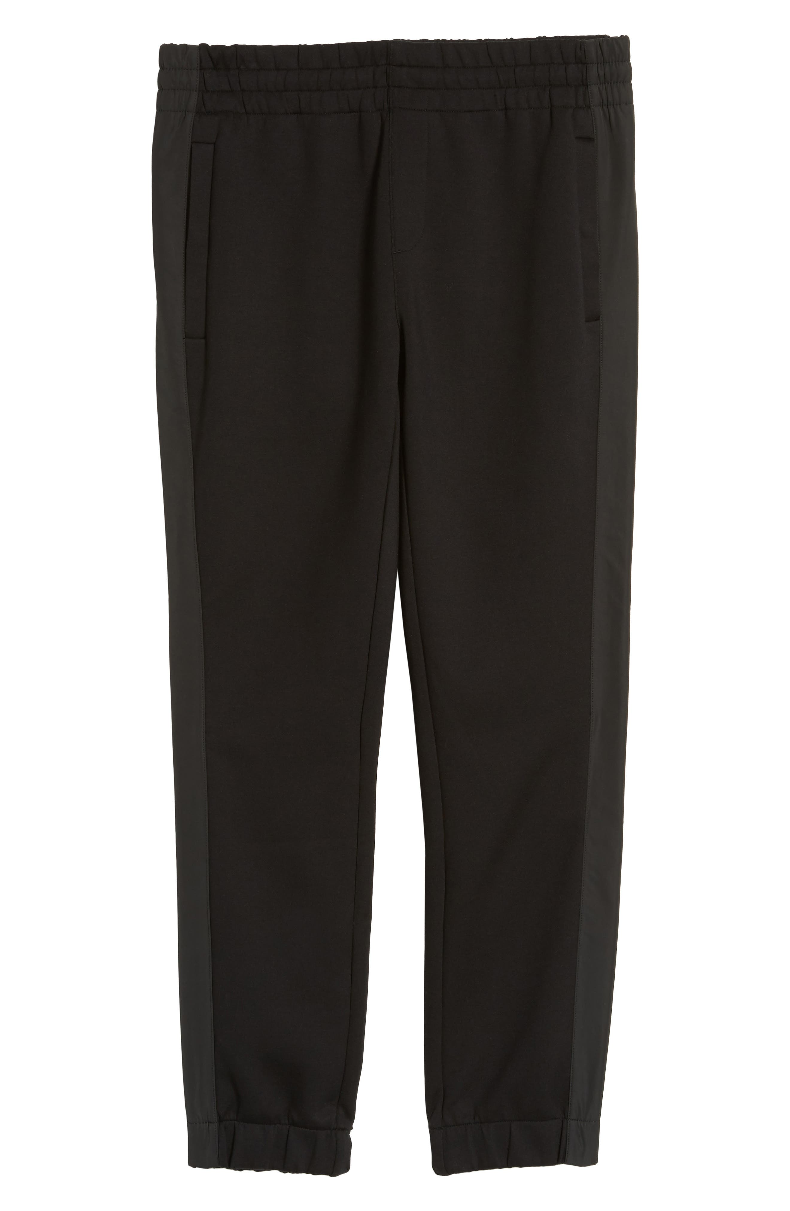Lamont Mercedes Jogger Pants,                             Alternate thumbnail 6, color,                             Black