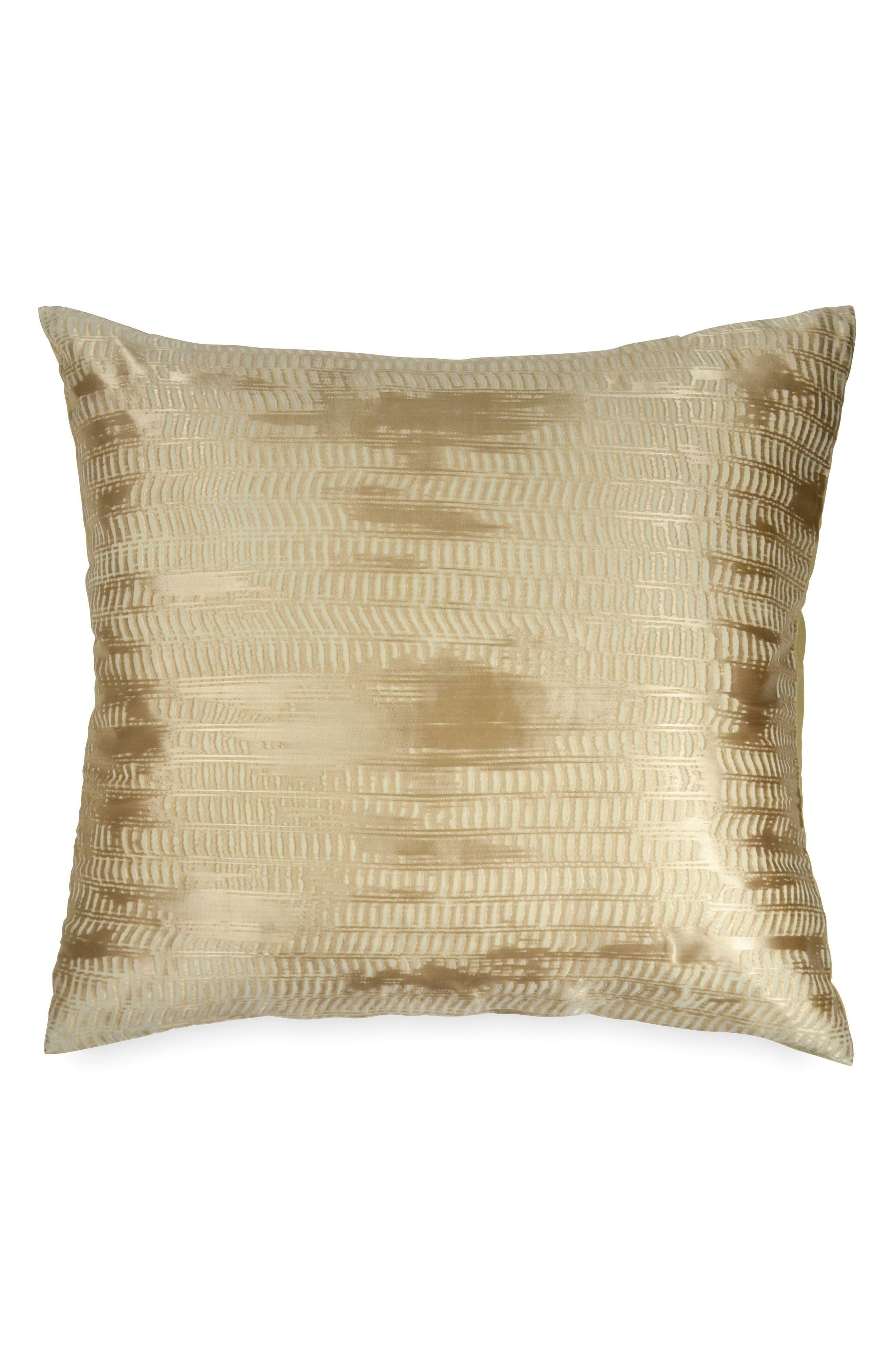 Donna Karan Vapor Euro Sham,                         Main,                         color, Gold Dust