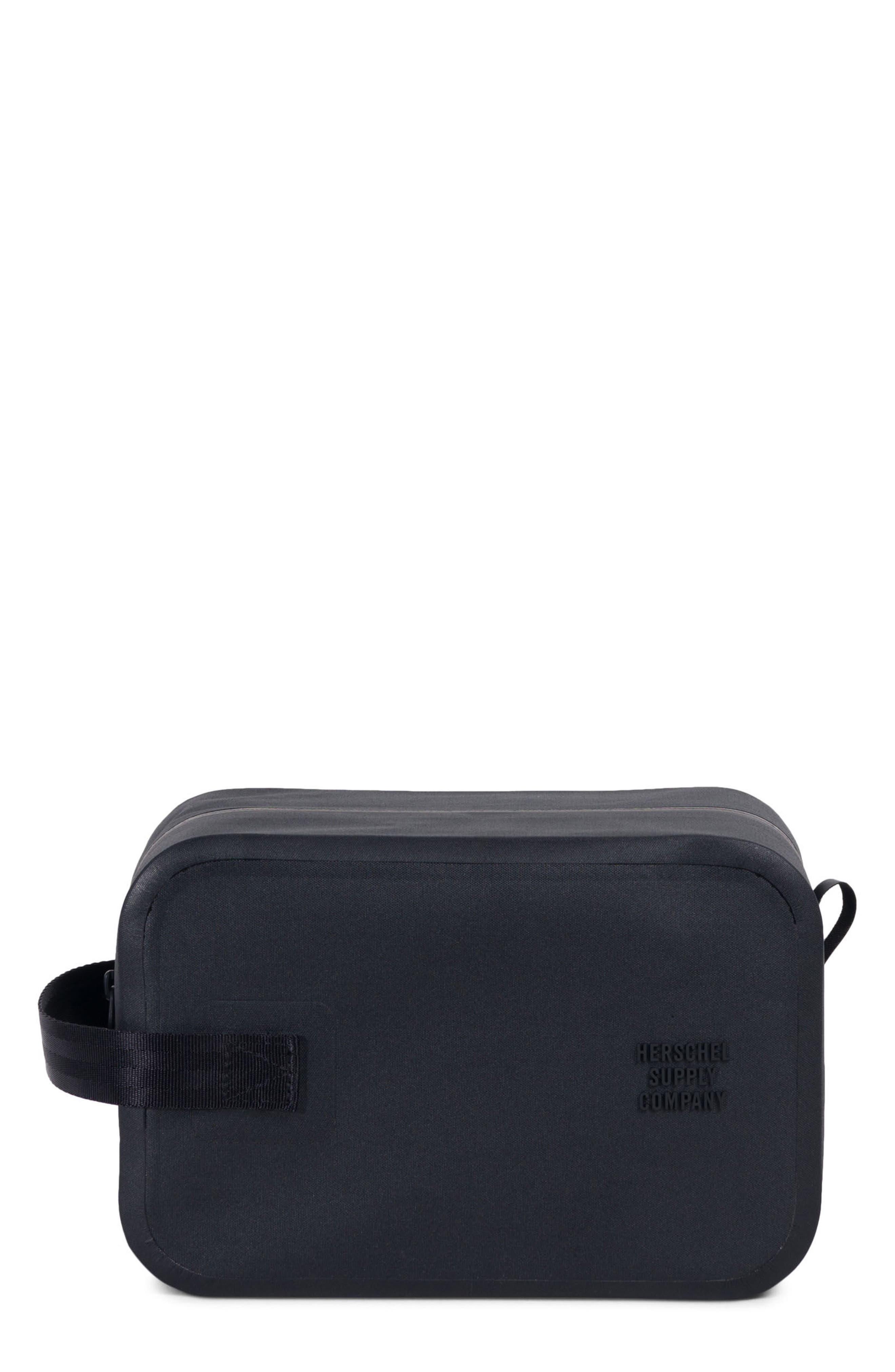 Tarpaulin Chapter Studio Dopp Kit,                         Main,                         color, Black
