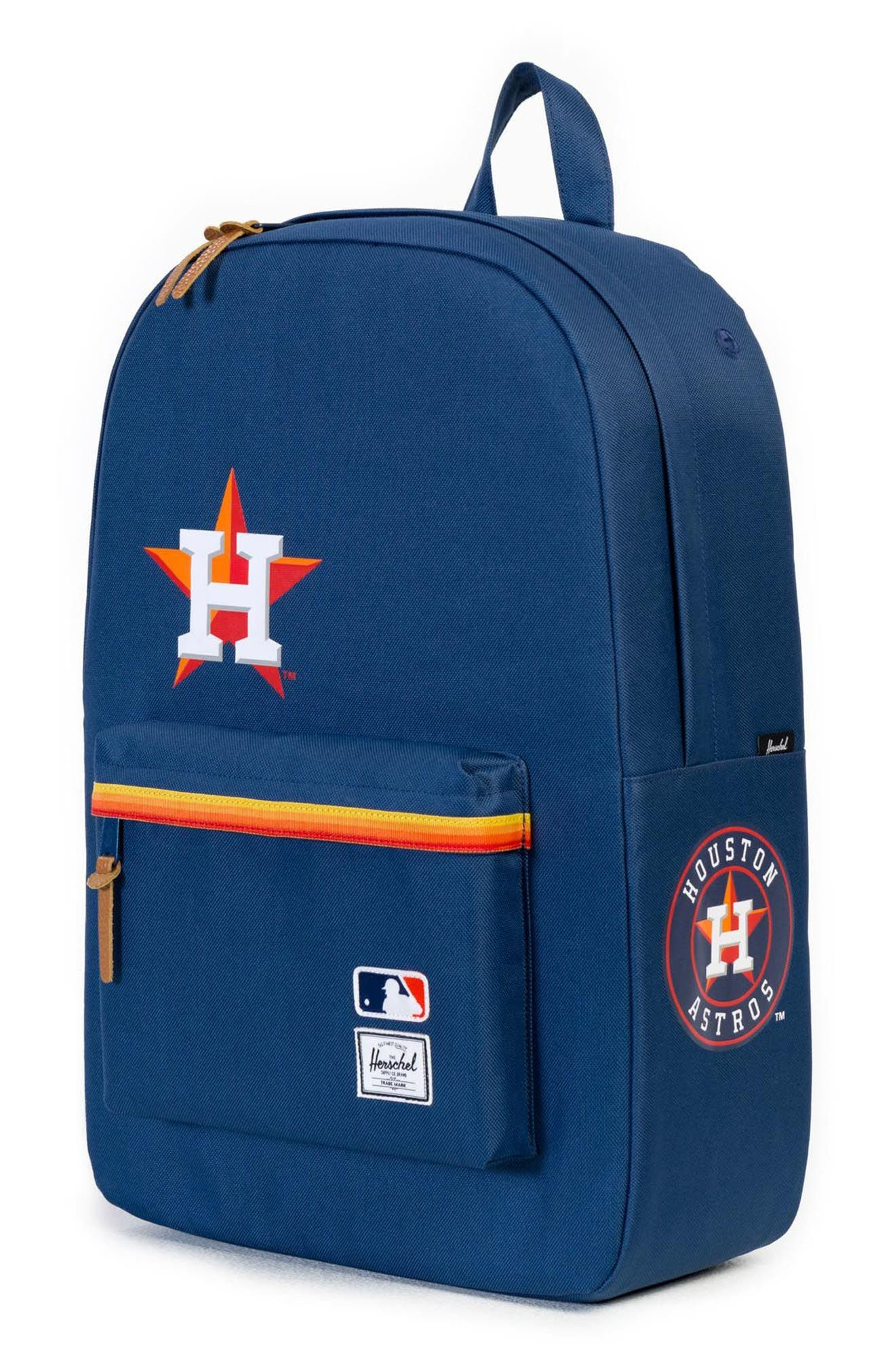 Heritage - MLB American League Backpack,                             Alternate thumbnail 4, color,                             Houston Astros